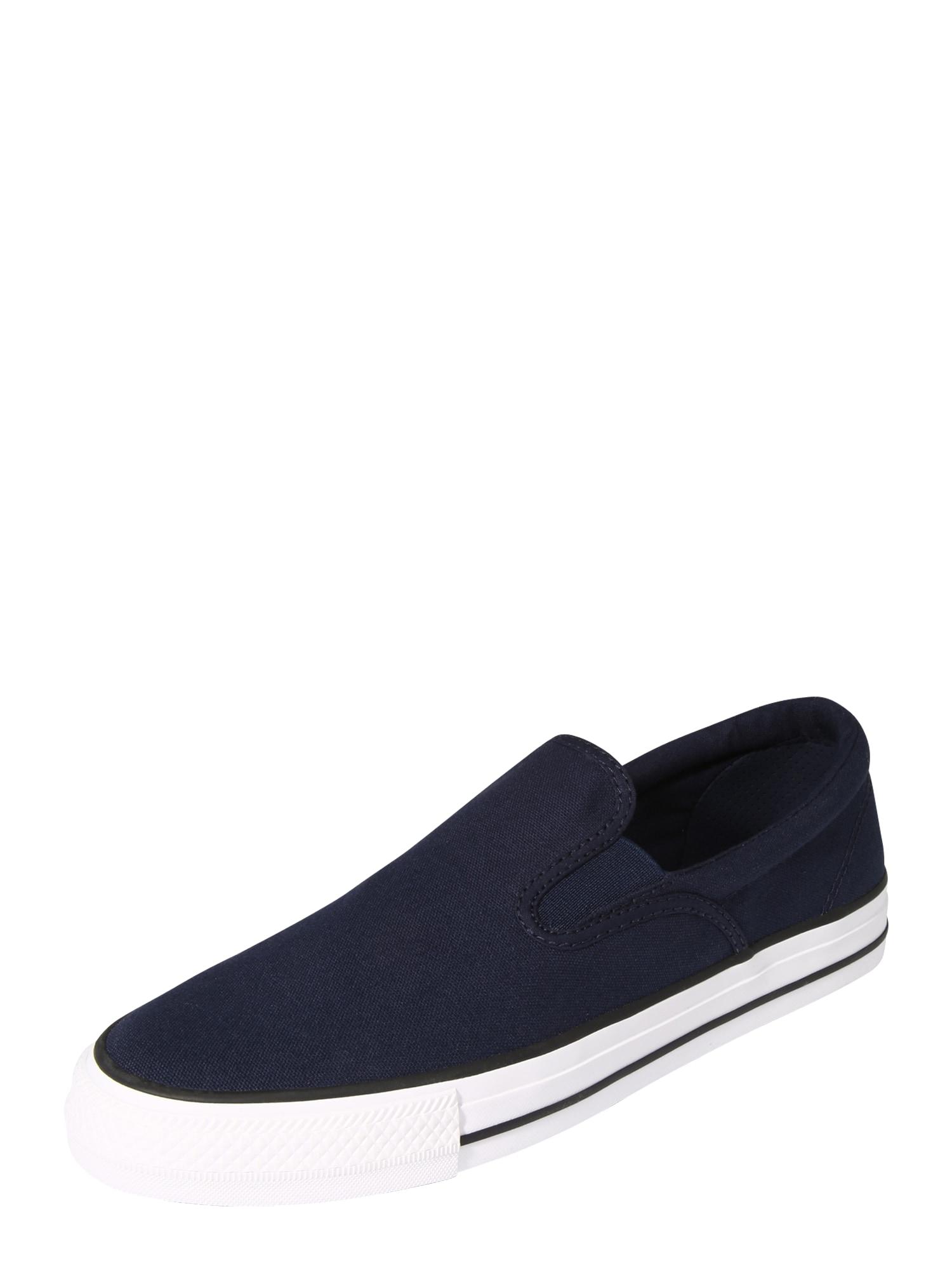 CONVERSE Slip on boty  bílá / noční modrá