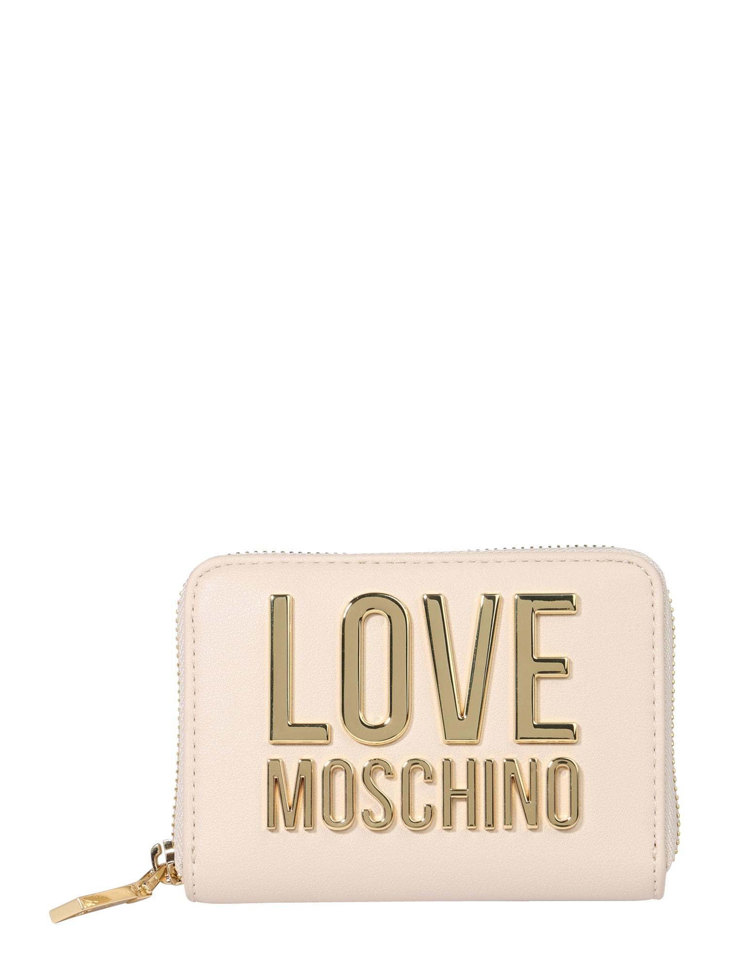 Love Moschino Piniginė kremo