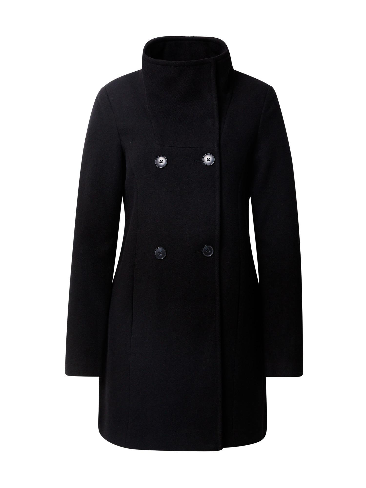 VERO MODA Přechodný kabát 'Classline'  černá