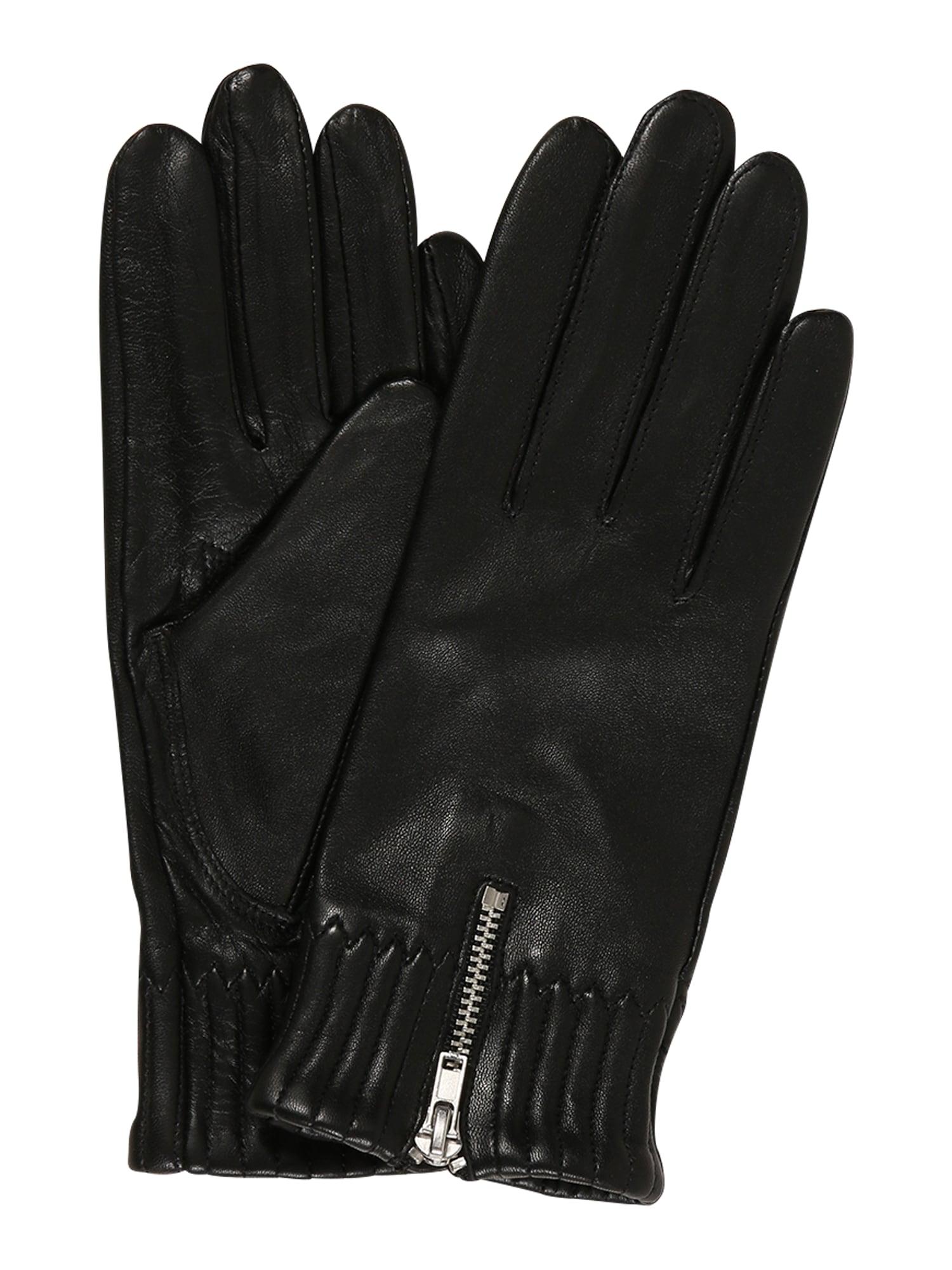 ROECKL Prstové rukavice 'Dublin Touch'  černá
