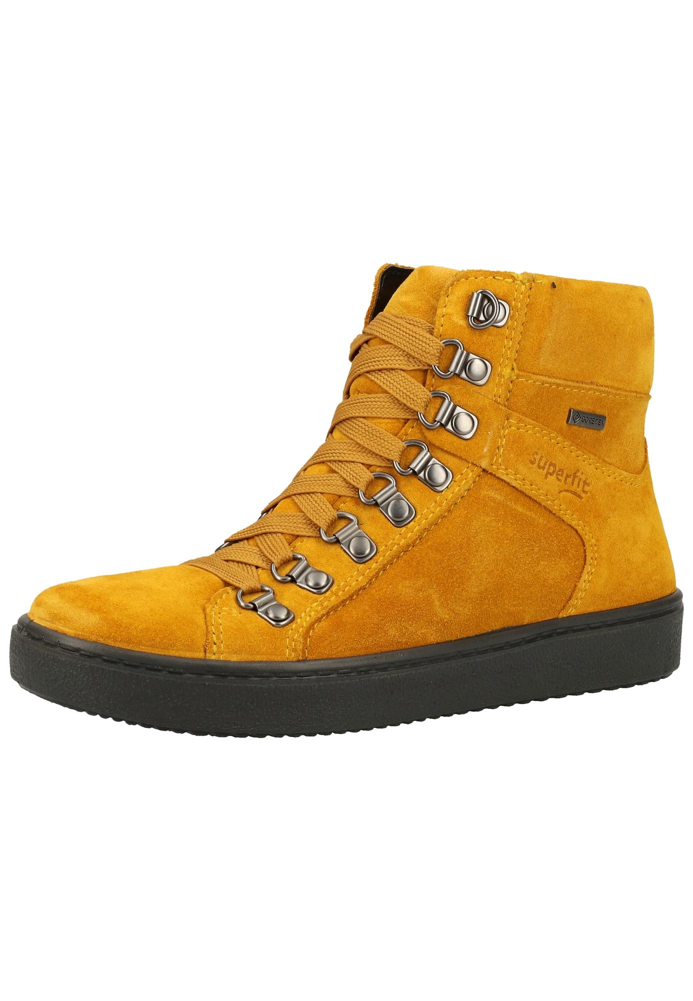 SUPERFIT Auliniai batai su kulniuku geltona