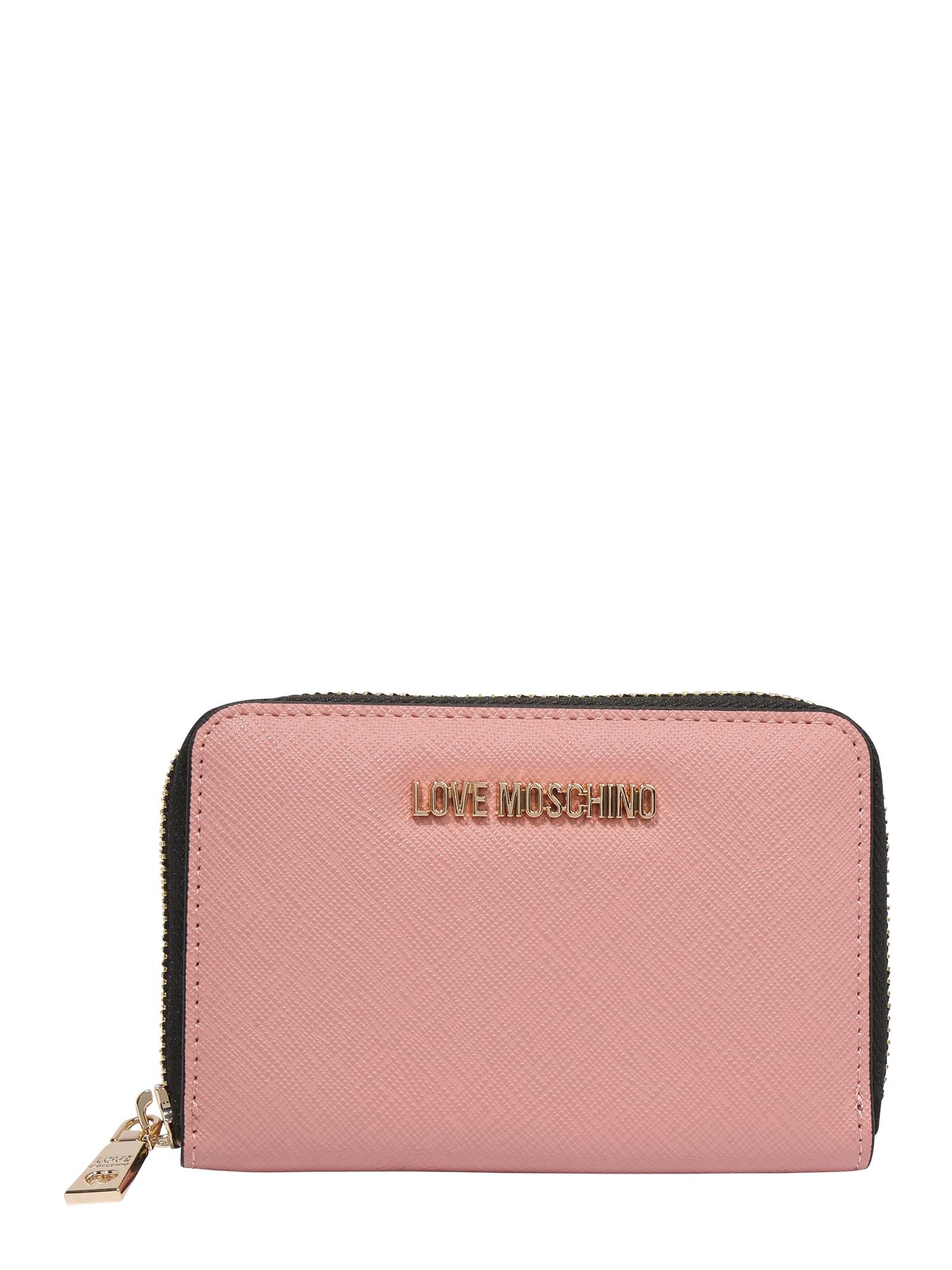 Love Moschino Piniginė ryškiai rožinė spalva