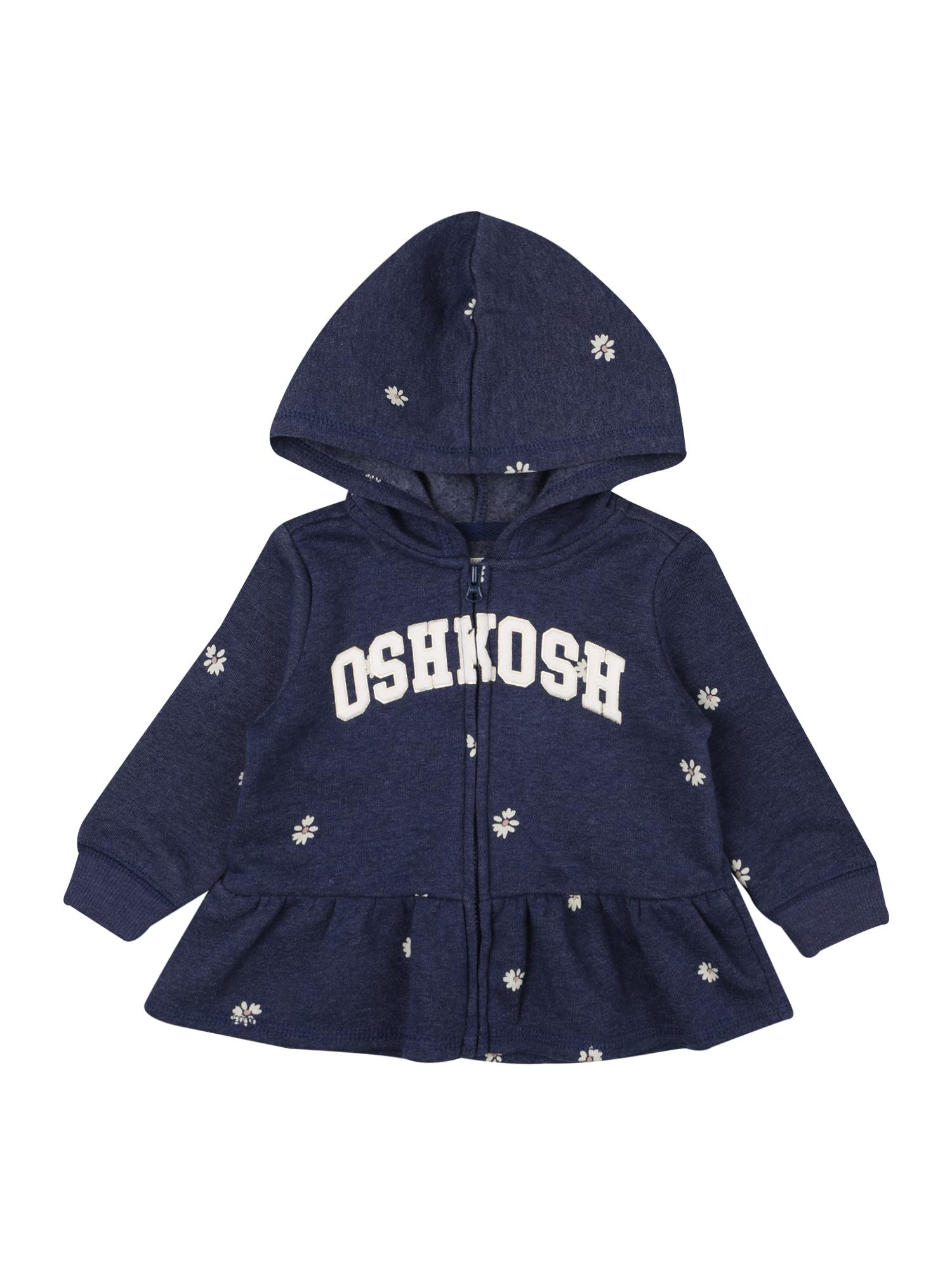 OshKosh Džemperis tamsiai mėlyna jūros spalva / balta