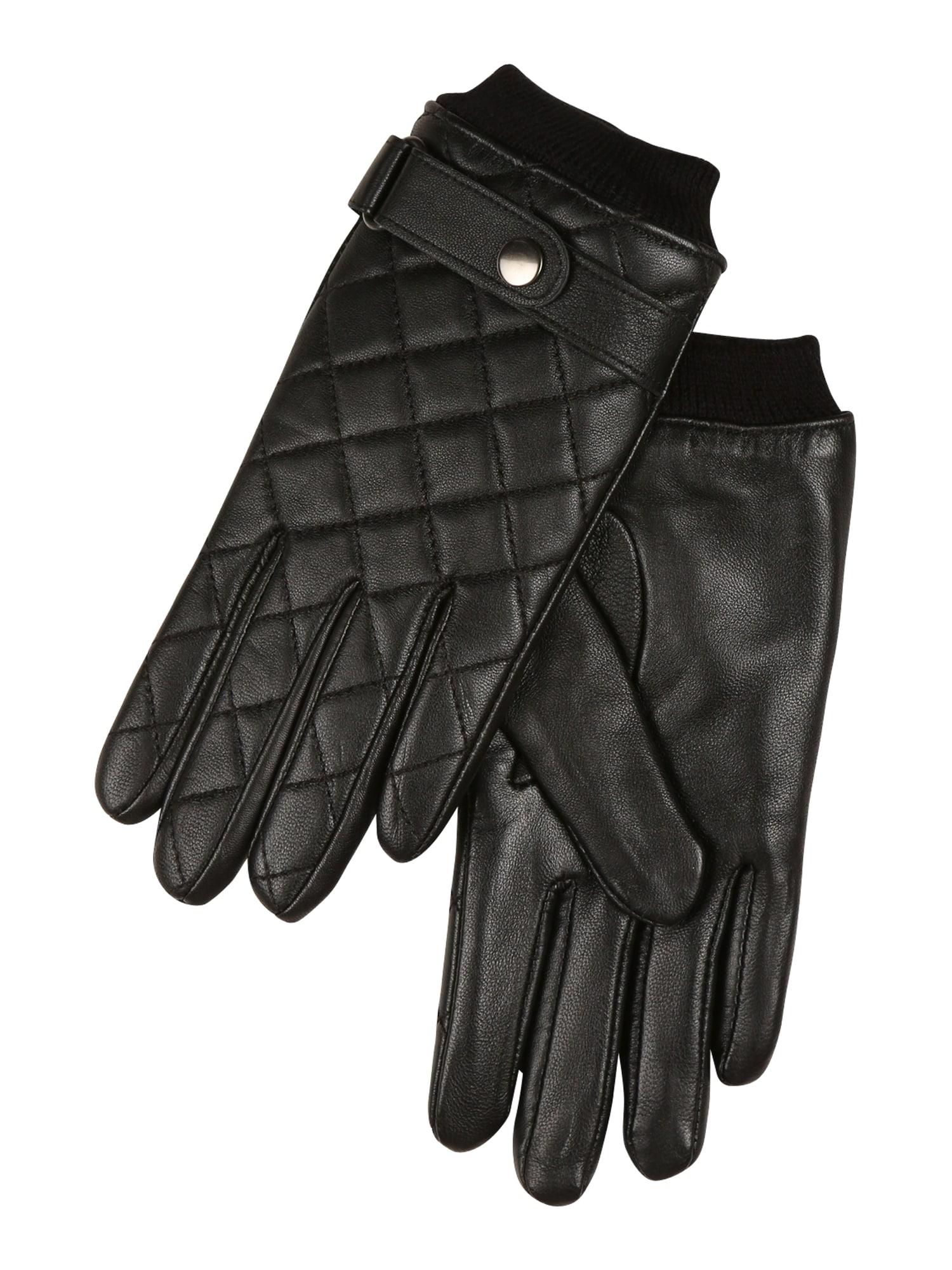 VERO MODA Prstové rukavice 'Kuilt'  černá