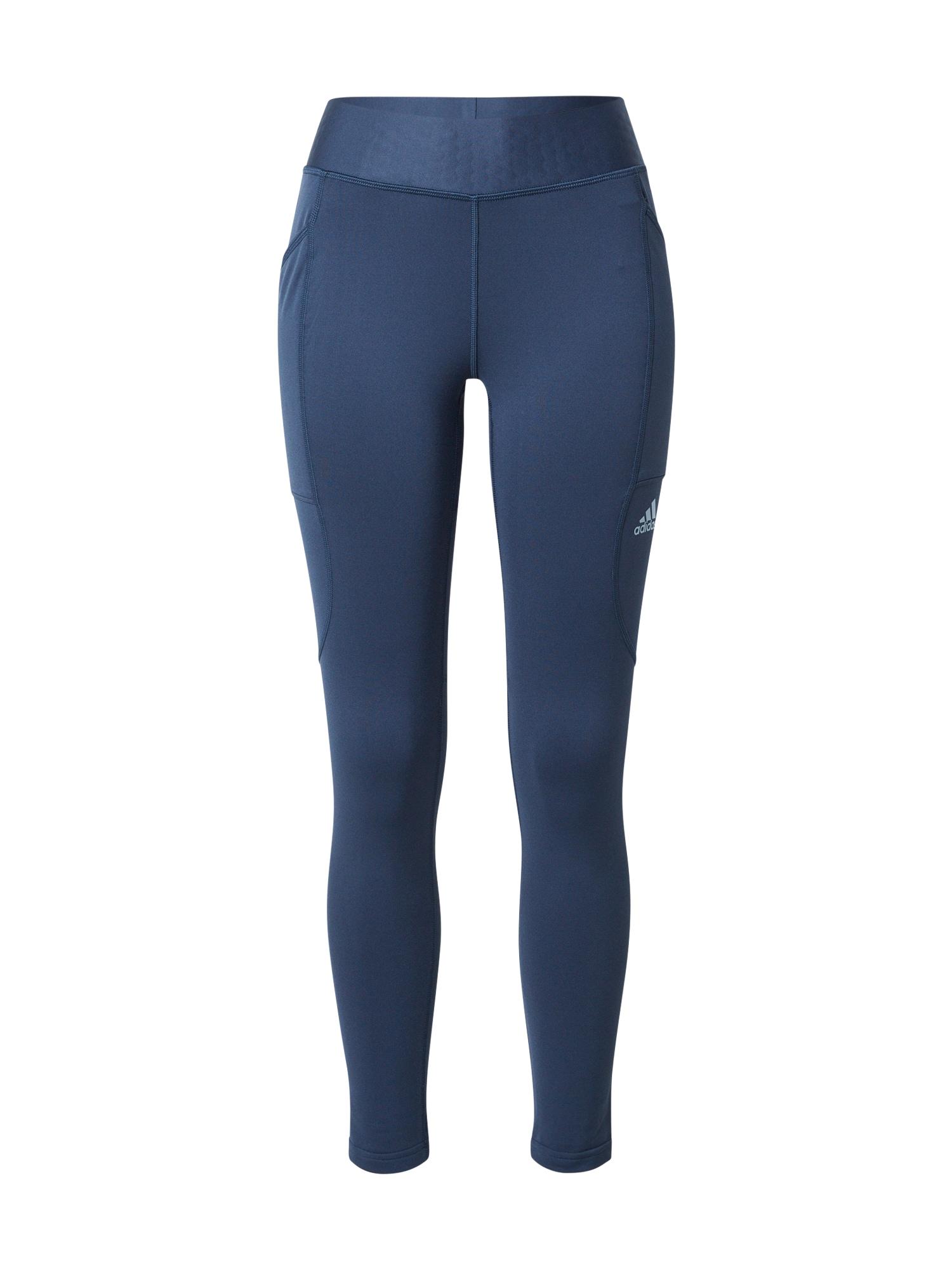 adidas Golf Sportinės kelnės tamsiai mėlyna / šviesiai mėlyna