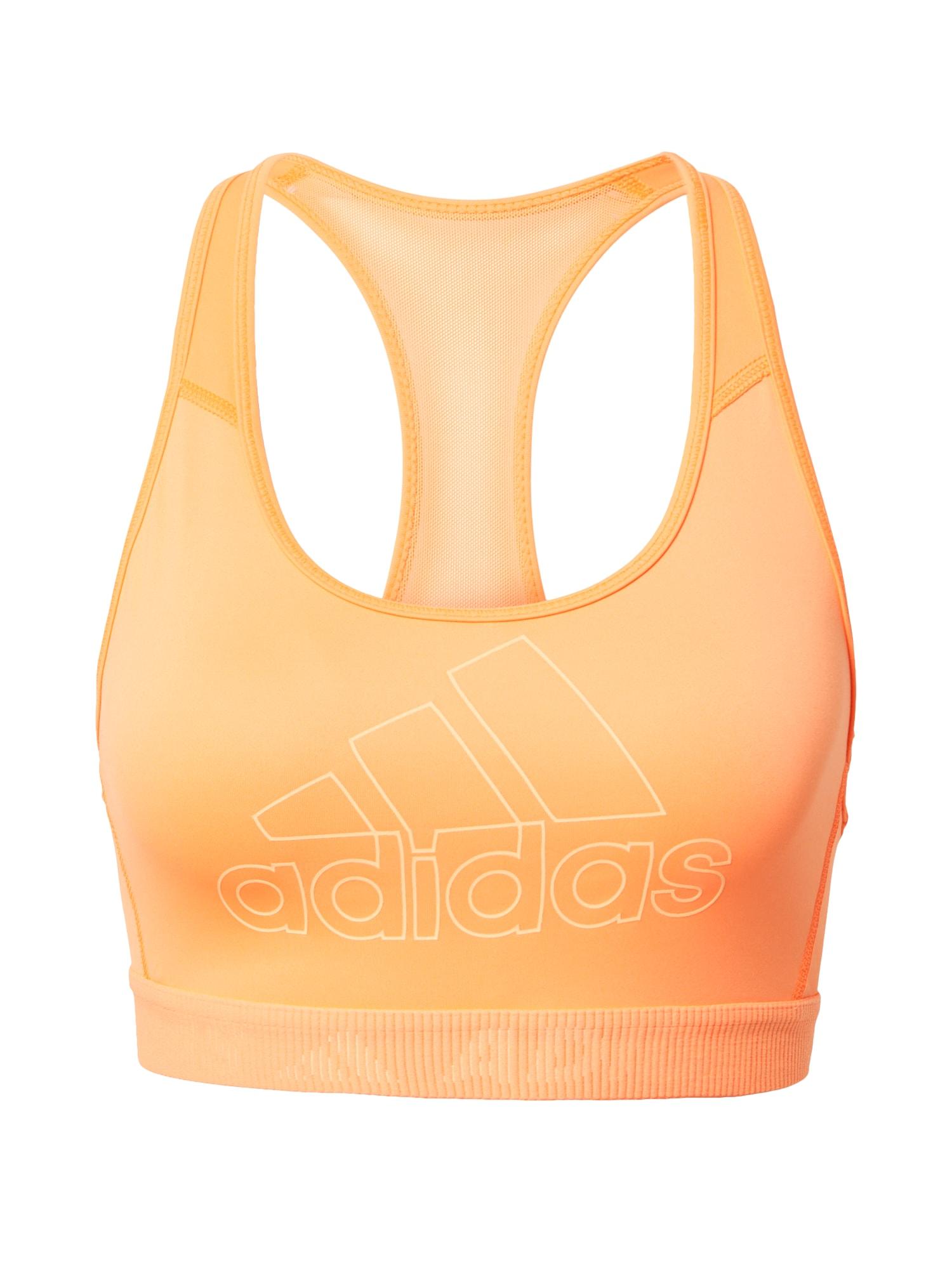 ADIDAS PERFORMANCE Sportovní podprsenka 'Don't Rest'  oranžová / bílá