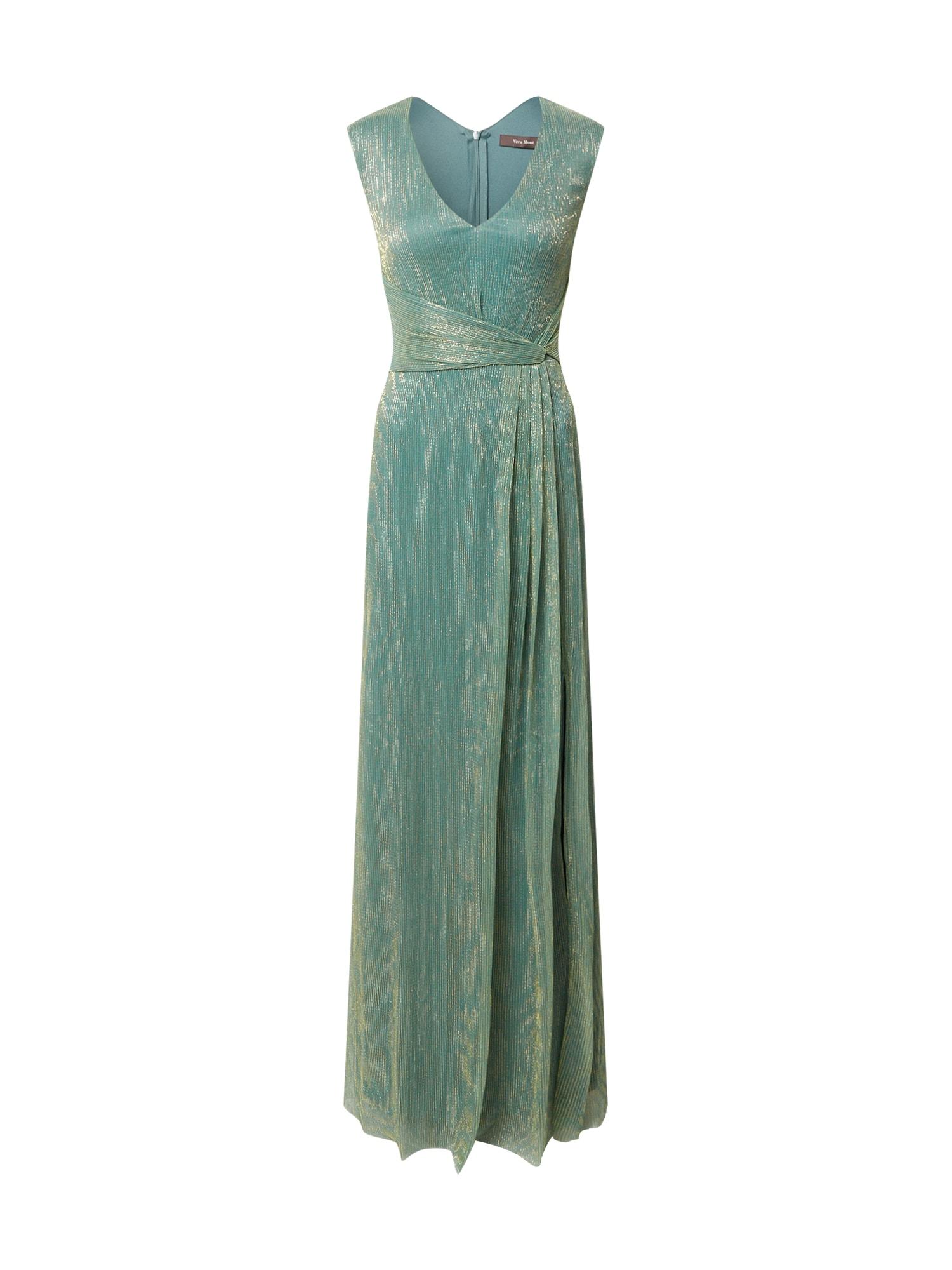 Vera Mont Vakarinė suknelė auksas / žalia