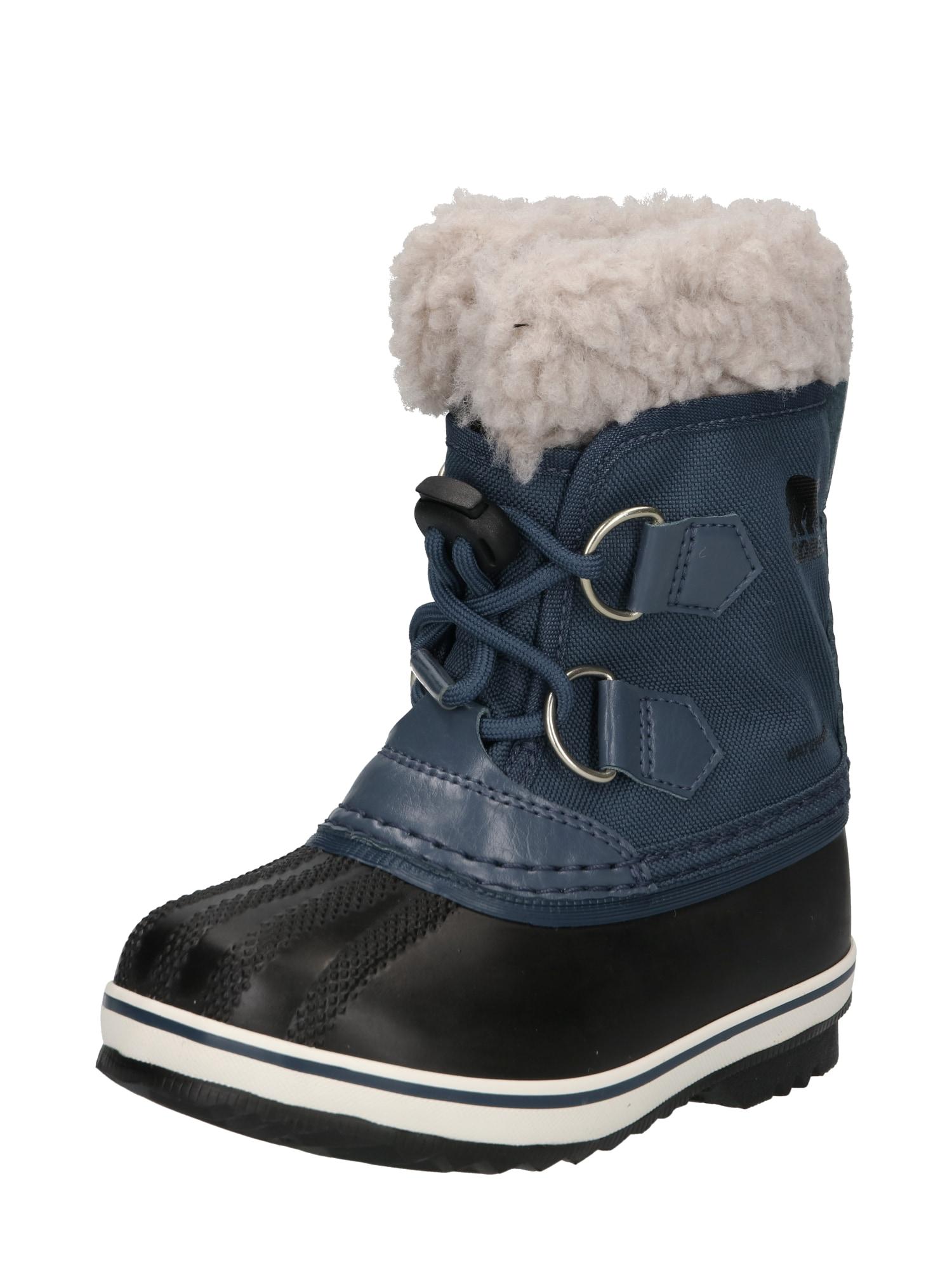 SOREL Sněhule 'YOOT PAC'  černá / námořnická modř