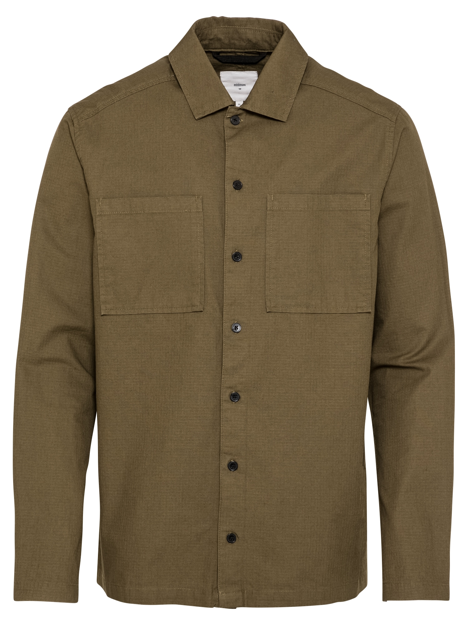 minimum Marškiniai alyvuogių spalva