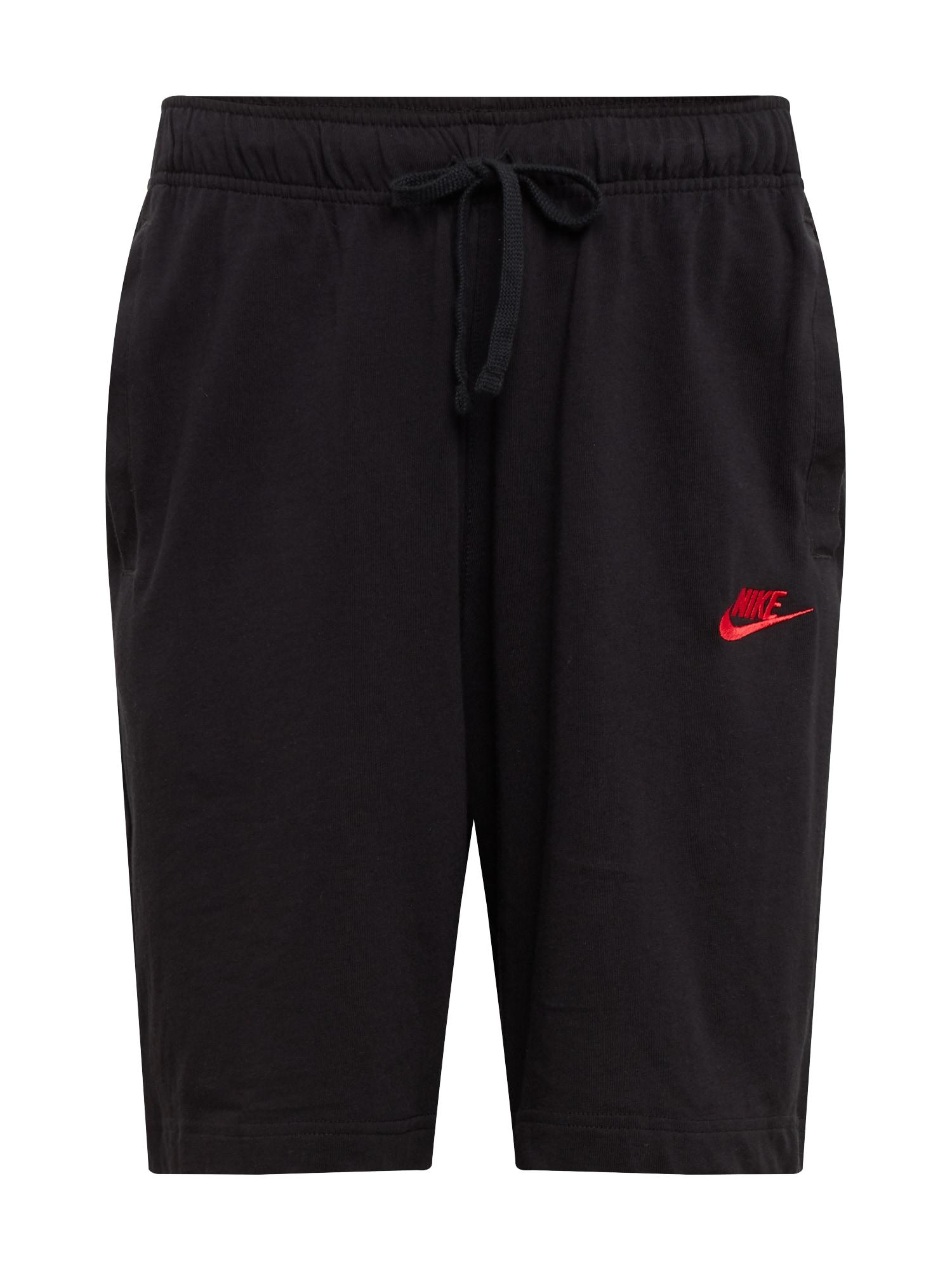 Nike Sportswear Kelnės juoda / melionų spalva