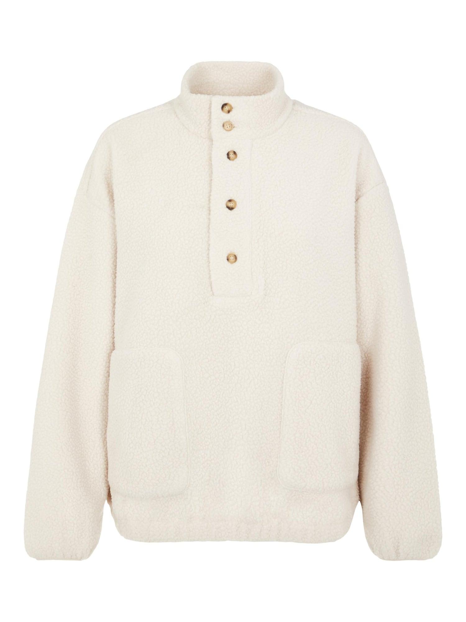 OBJECT Megztinis natūrali balta