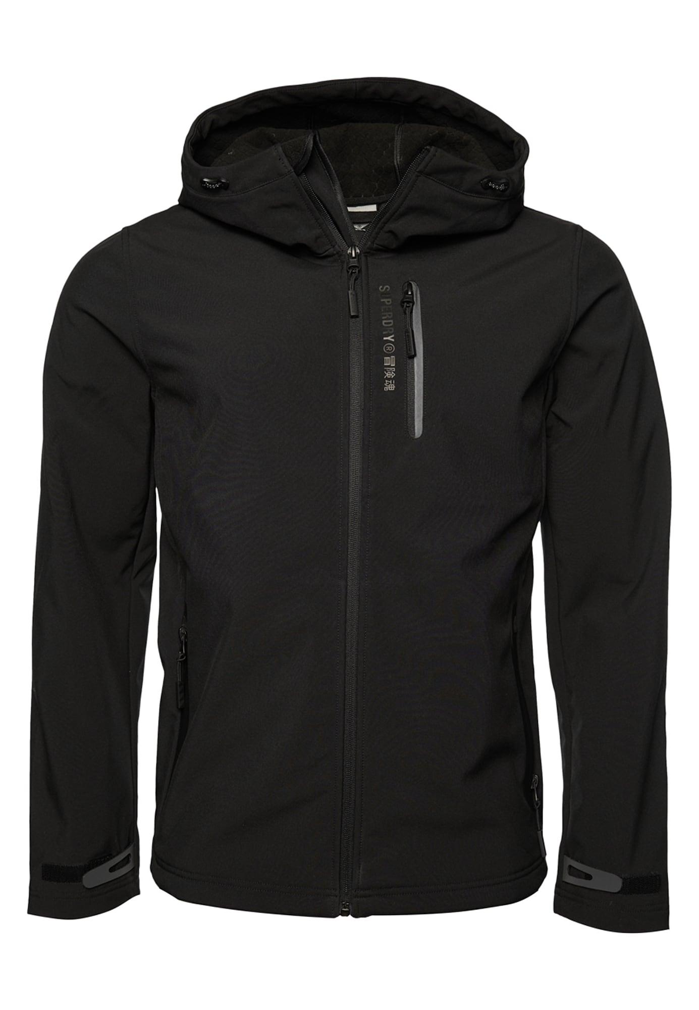 Superdry Funkční bunda  černá