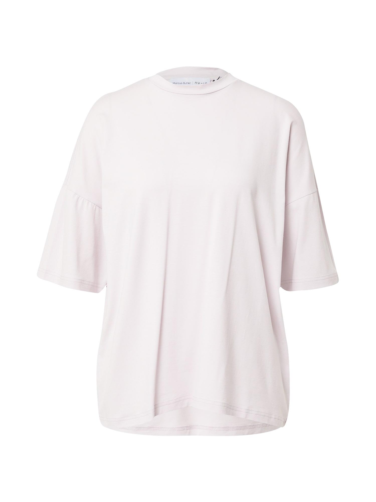 NU-IN Laisvi marškinėliai šviesiai violetinė