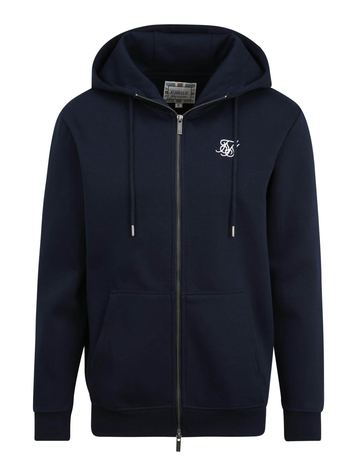 SikSilk Džemperis tamsiai mėlyna / balta