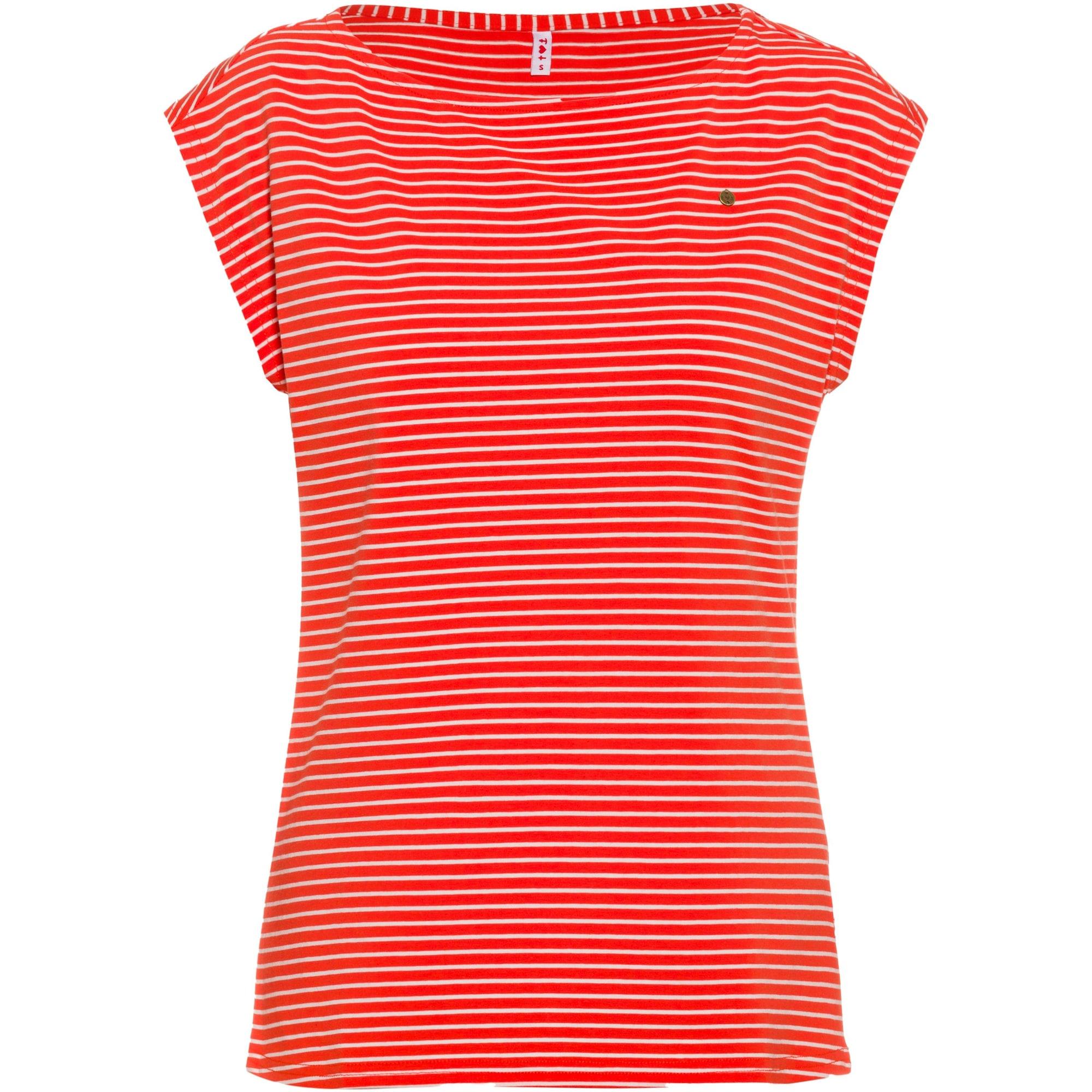 Blutsgeschwister Marškinėliai raudona / balta