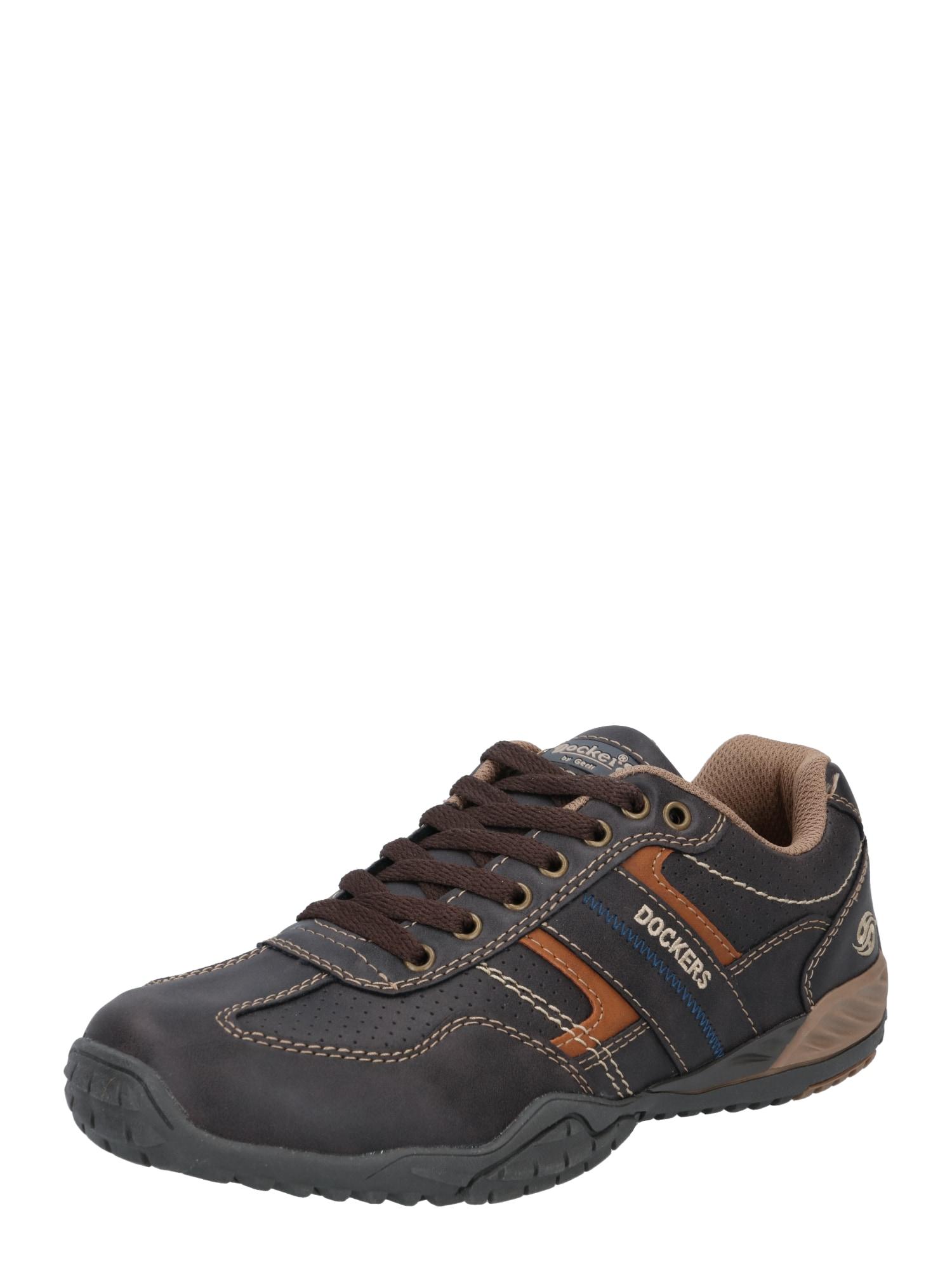 Dockers by Gerli Sportinio stiliaus batai su raišteliais mėlyna / mišrios spalvos