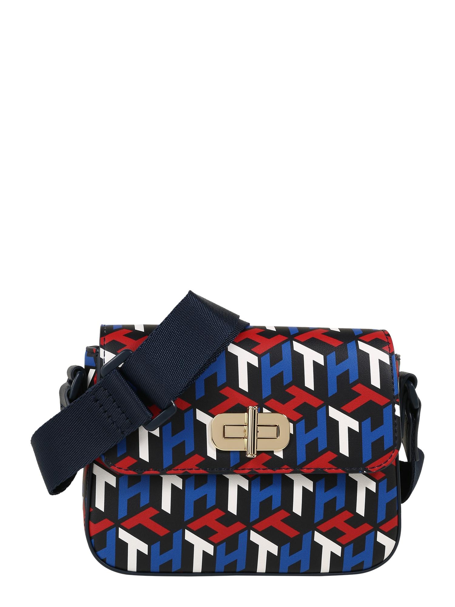 TOMMY HILFIGER Krepšys raudona / mėlyna / balta / nakties mėlyna