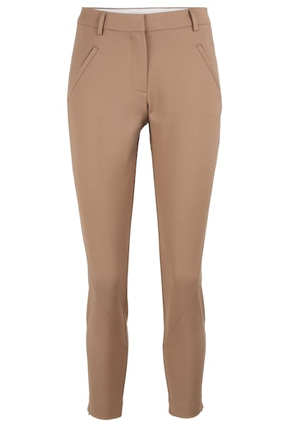 Hosen - Hose Angelie 238 Zip › FIVEUNITS › braun beige  - Onlineshop ABOUT YOU