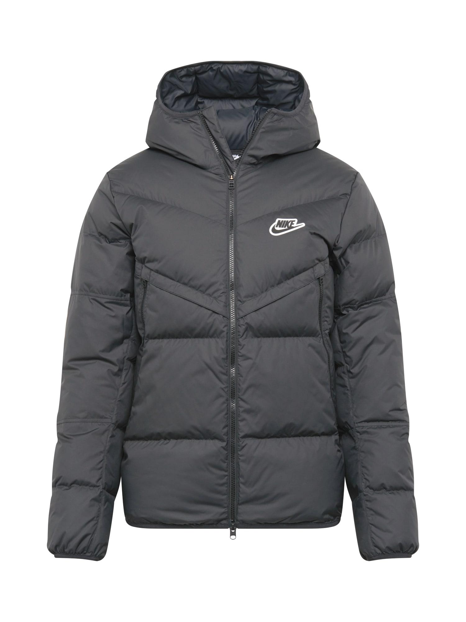 Nike Sportswear Žieminė striukė juoda