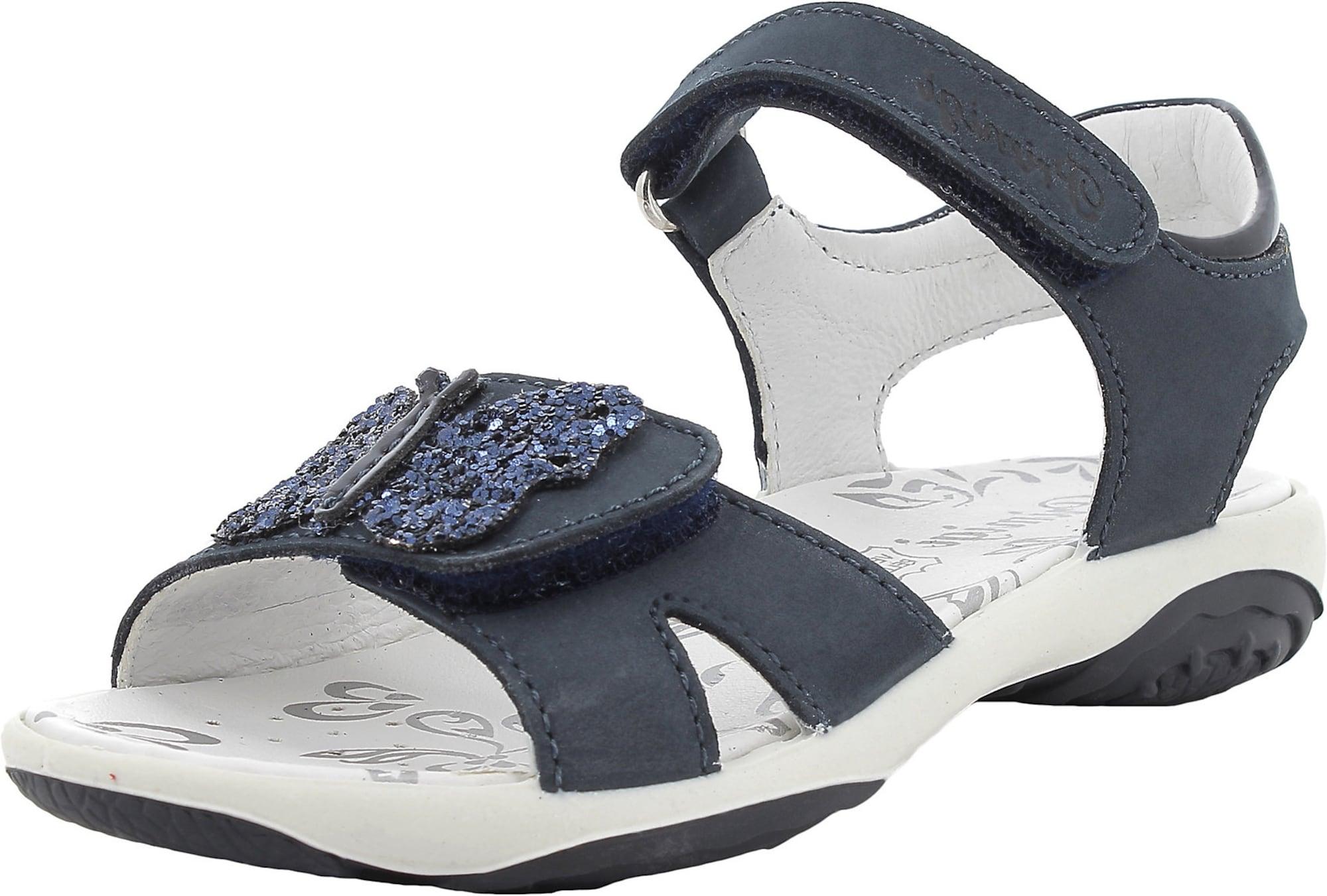 PRIMIGI Sandalai tamsiai mėlyna jūros spalva