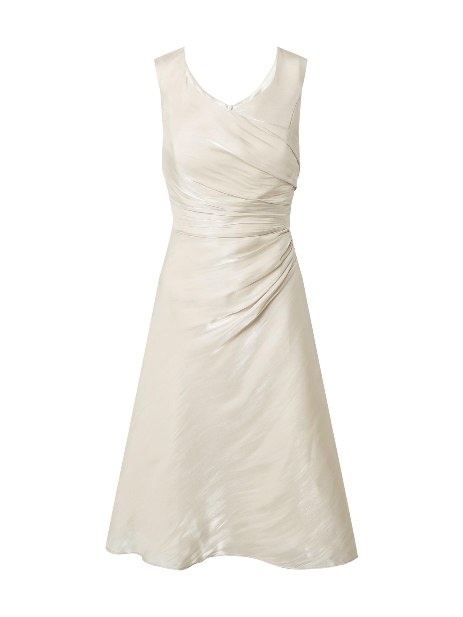 Vera Mont Kokteilinė suknelė smėlio / kremo