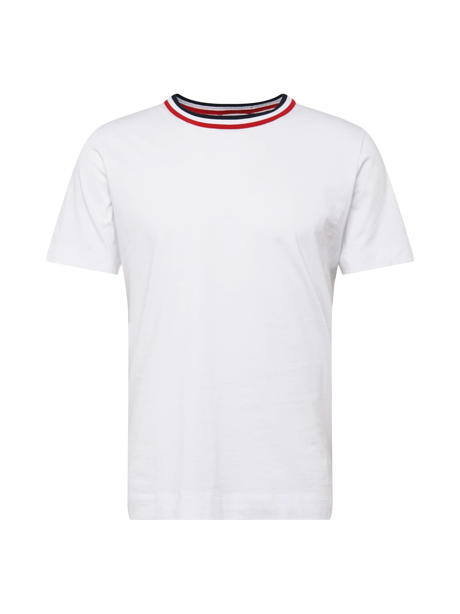 Tommy Hilfiger Curve Marškinėliai balta / tamsiai mėlyna / raudona