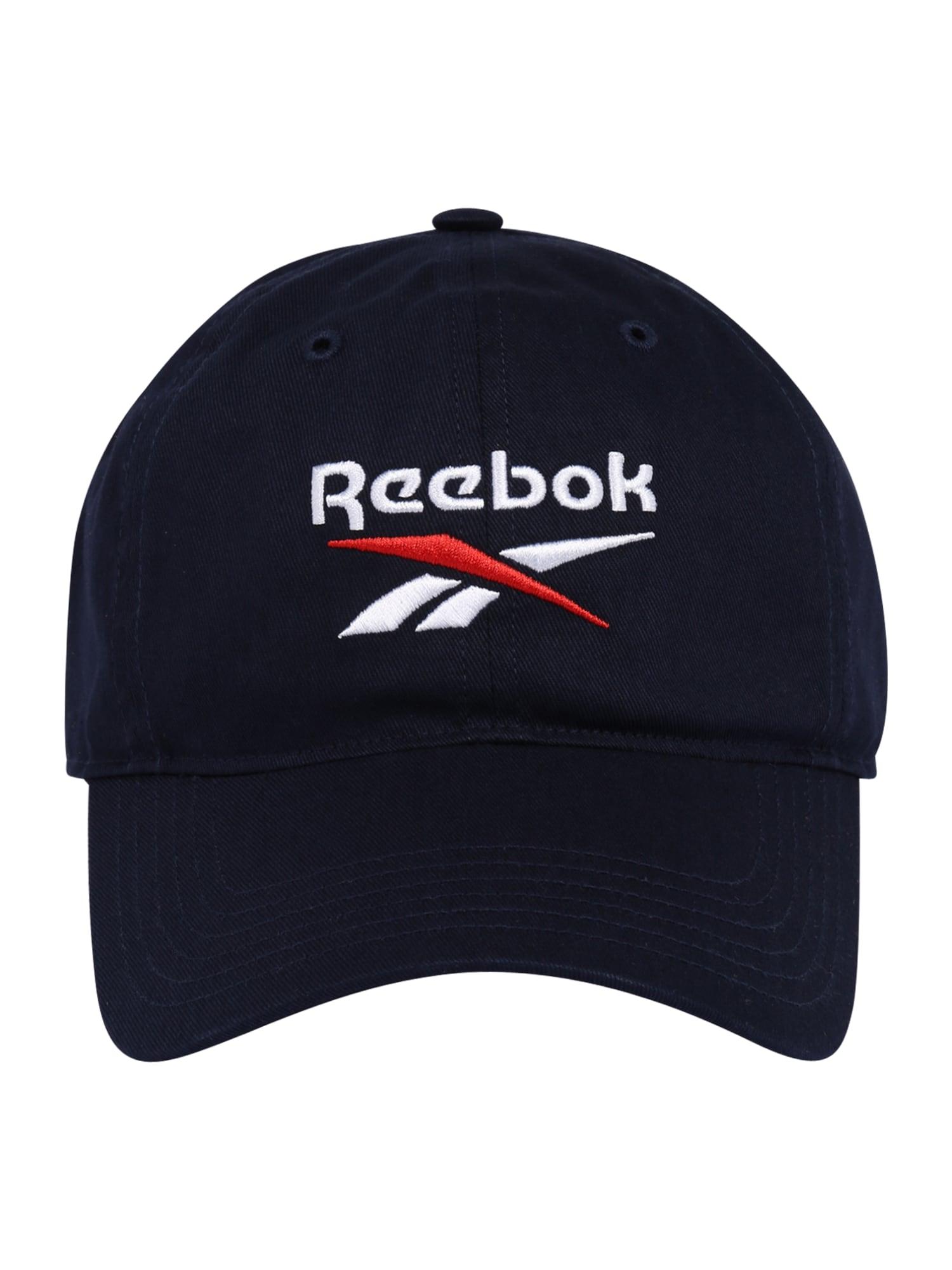 REEBOK Sportinė kepurė tamsiai mėlyna / balta / raudona