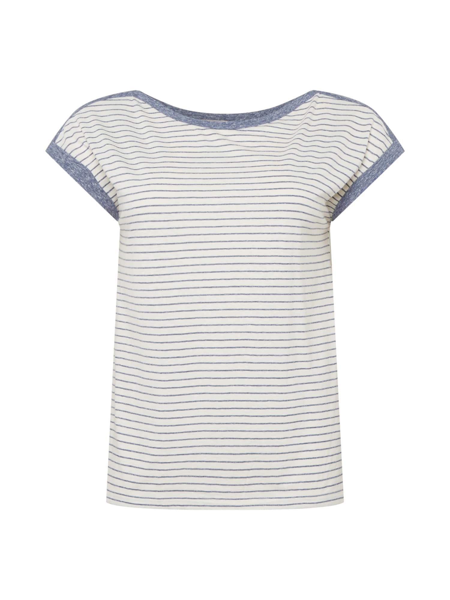 Esprit Curves Marškinėliai balta / margai mėlyna