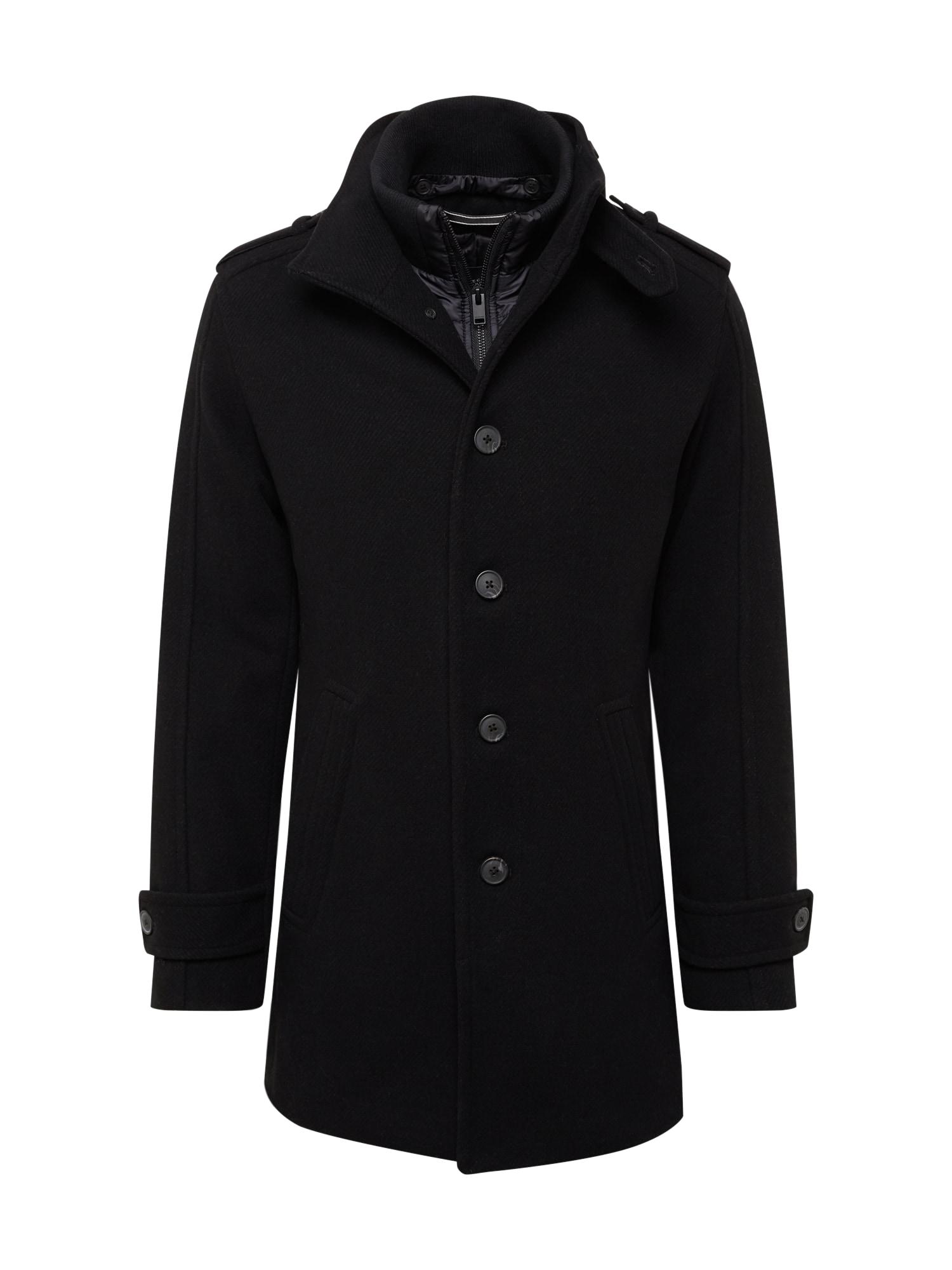 SELECTED HOMME Rudeninis-žieminis paltas 'NOAH' juoda