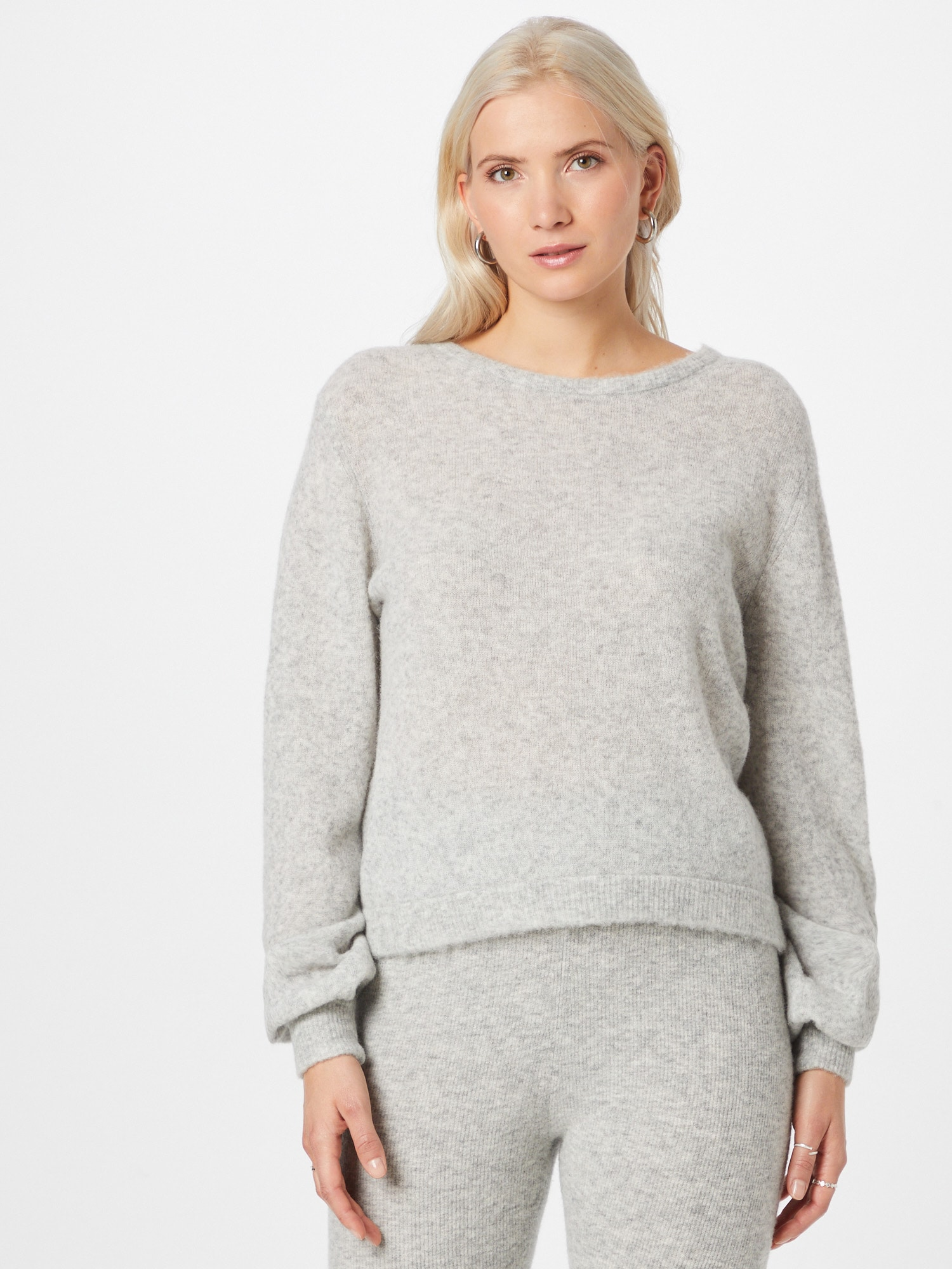 AMERICAN VINTAGE Pull-over 'Razpark'  gris clair