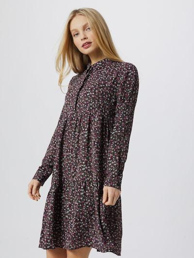 Jdy Piper Langarm-Hemdblusenkleid mit Aufdruck