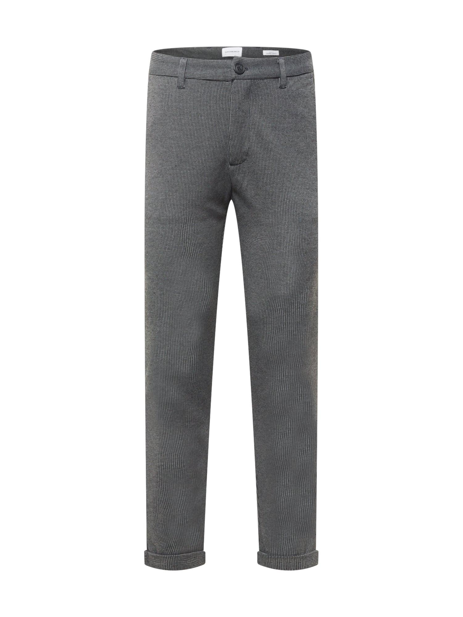 Lindbergh Kalhoty 'Gingham'  tmavě šedá / světle šedá
