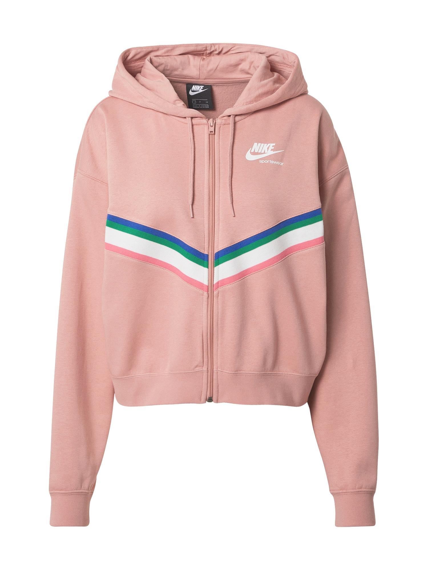 Nike Sportswear Džemperis rožinė / mišrios spalvos