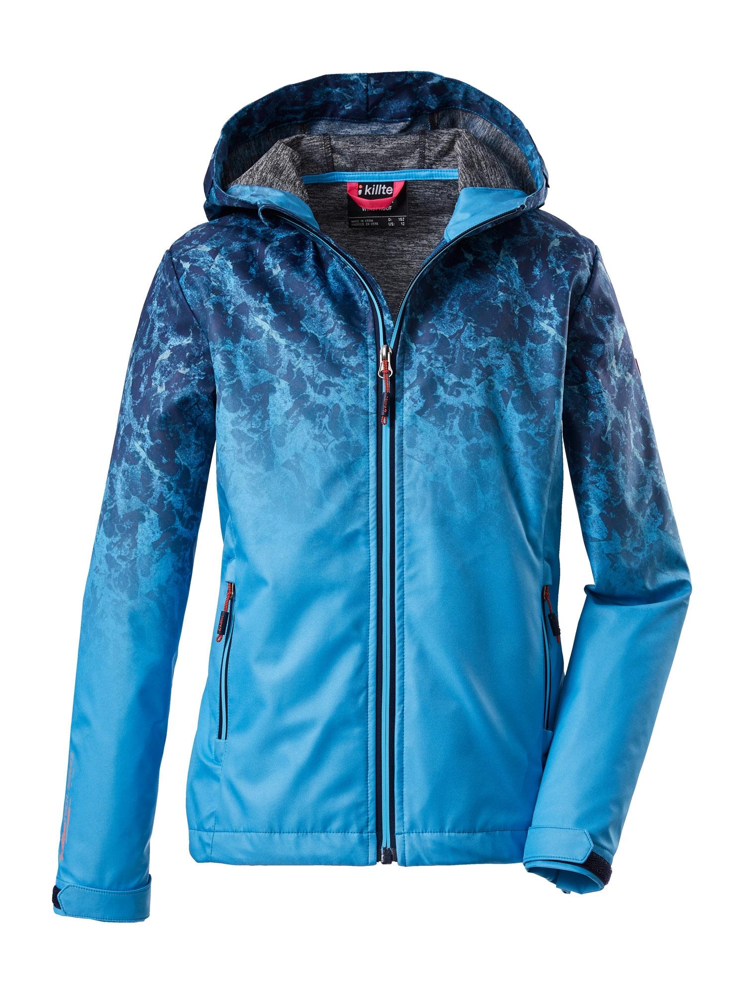 KILLTEC Laisvalaikio striukė 'Rodeny' turkio spalva / tamsiai mėlyna / indigo spalva