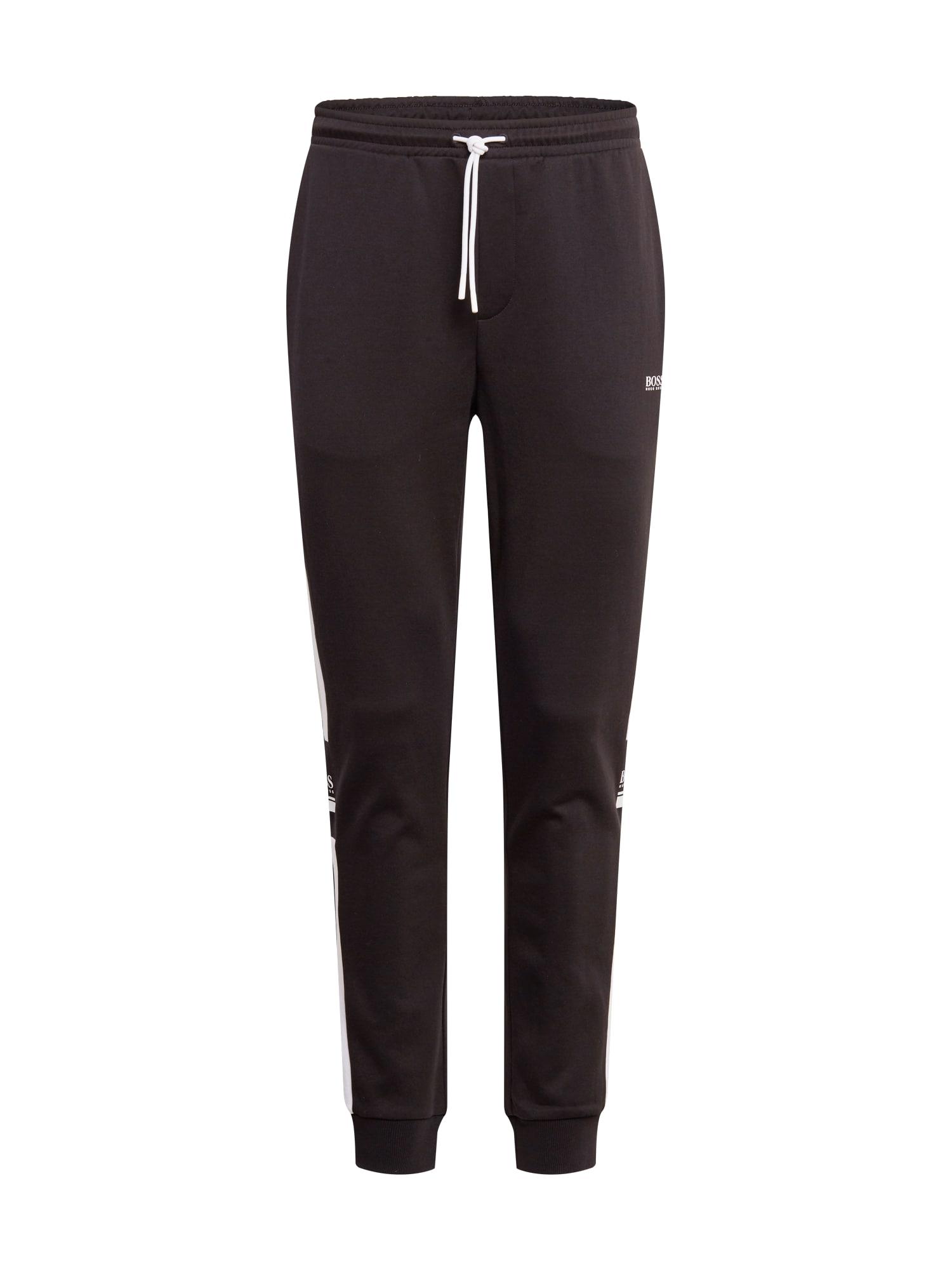 BOSS ATHLEISURE Kalhoty 'Halvo'  černá