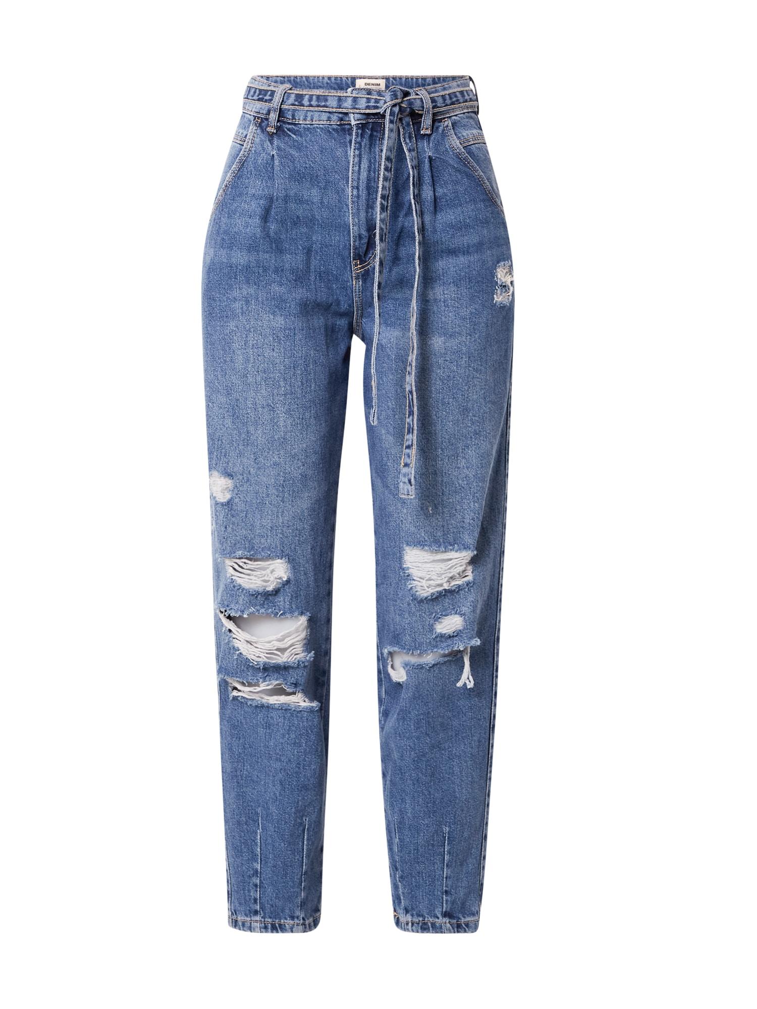 Tally Weijl Džinsai su kantu 'LISA' tamsiai (džinso) mėlyna
