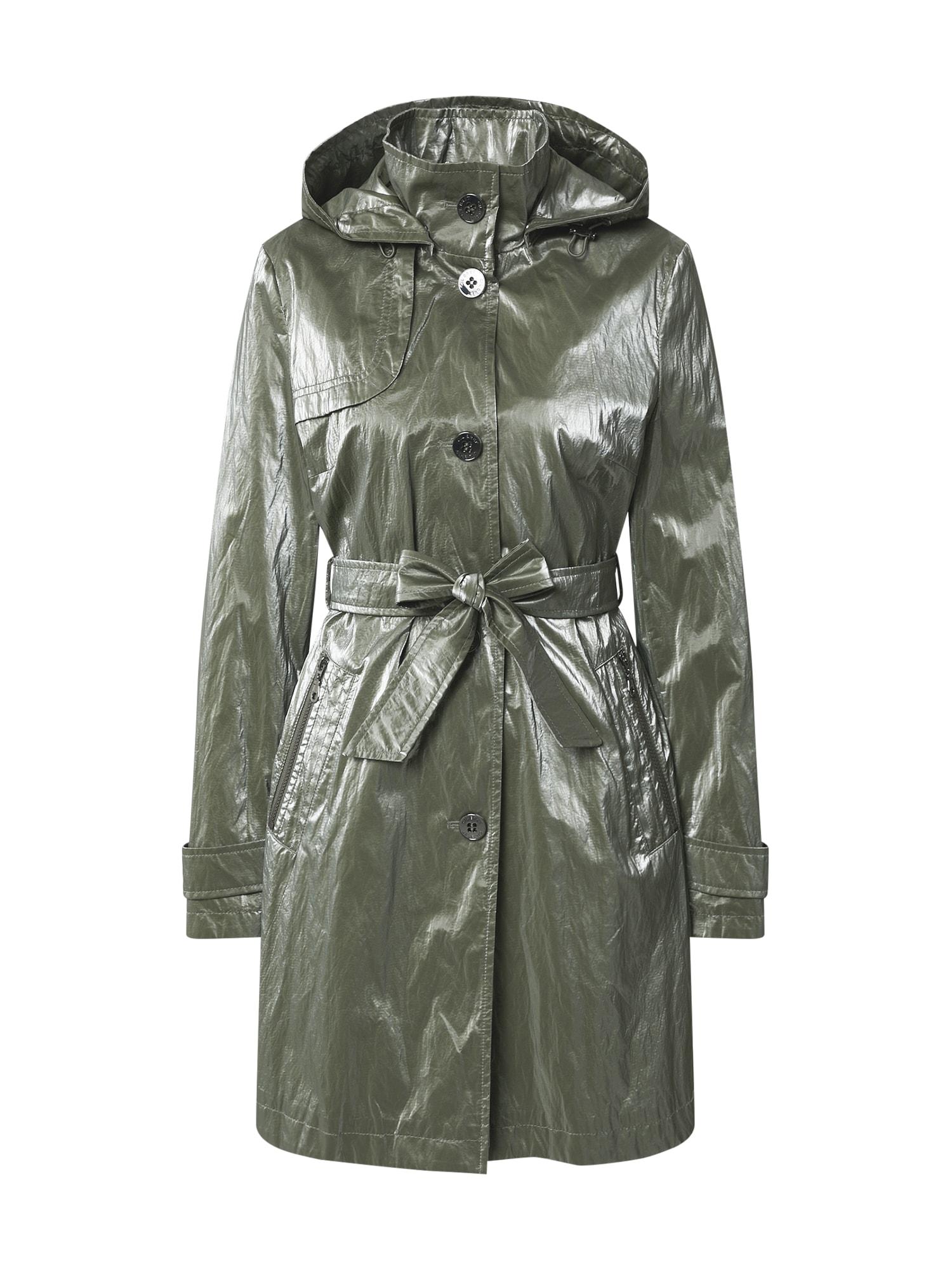 GIL BRET Demisezoninis paltas rusvai žalia