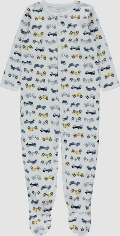 Name It Baby Langarm-Schlafanzug in Taubenblau 2er-Pack