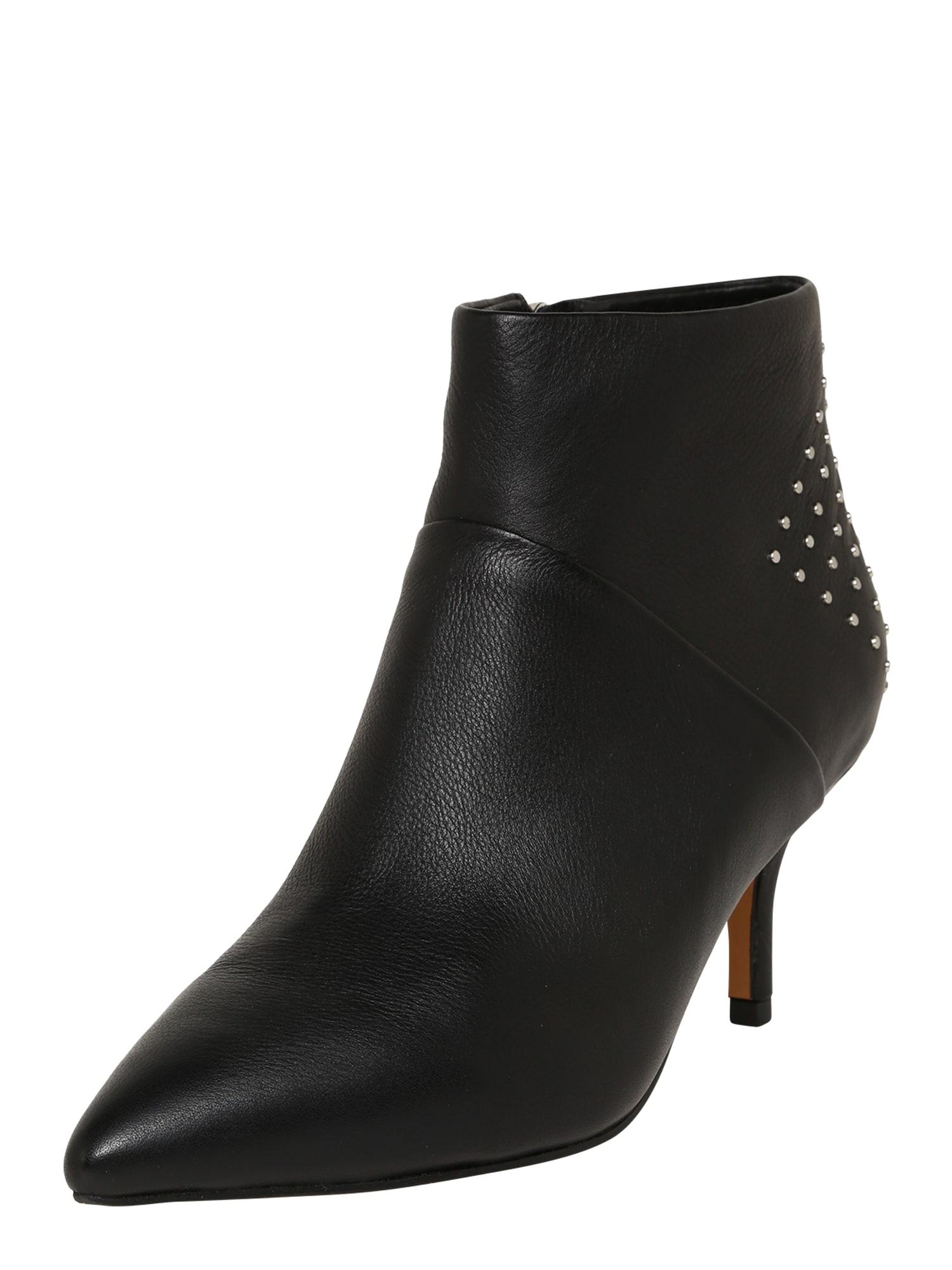 Shoe The Bear Členkové čižmy 'Valentine'  čierna