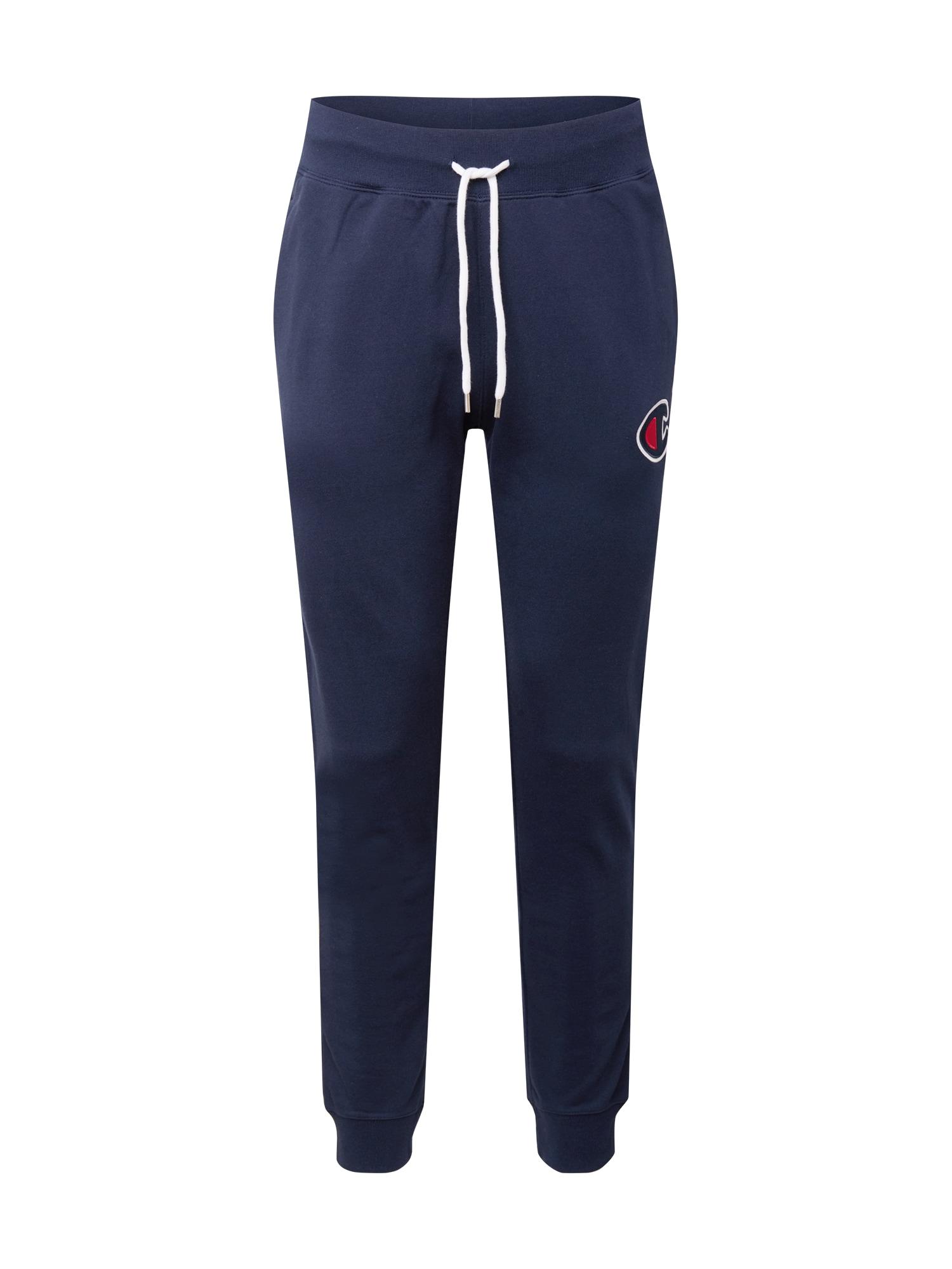 Champion Authentic Athletic Apparel Kelnės tamsiai mėlyna / balta / raudona