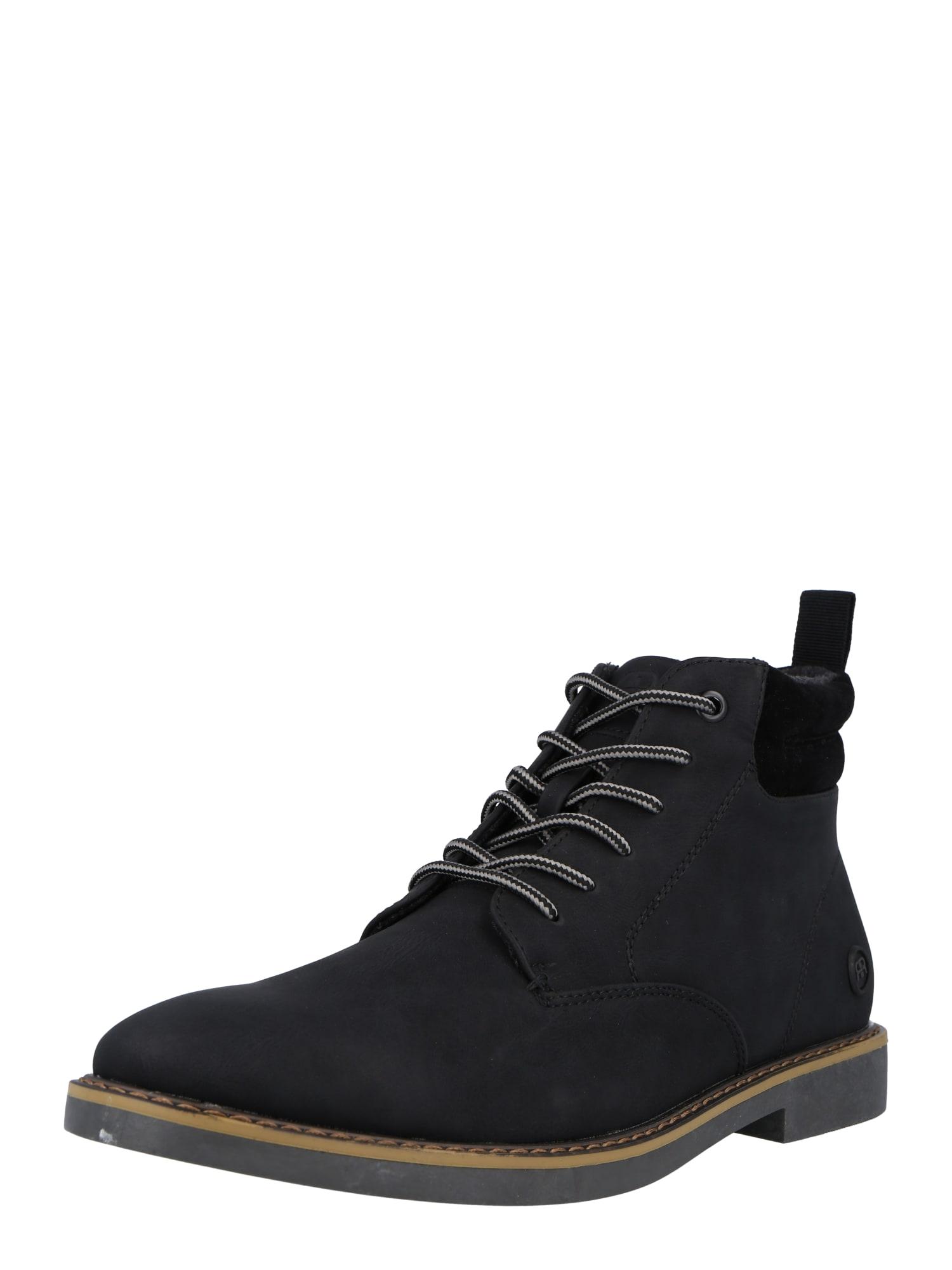 River Island Auliniai batai su raišteliais juoda