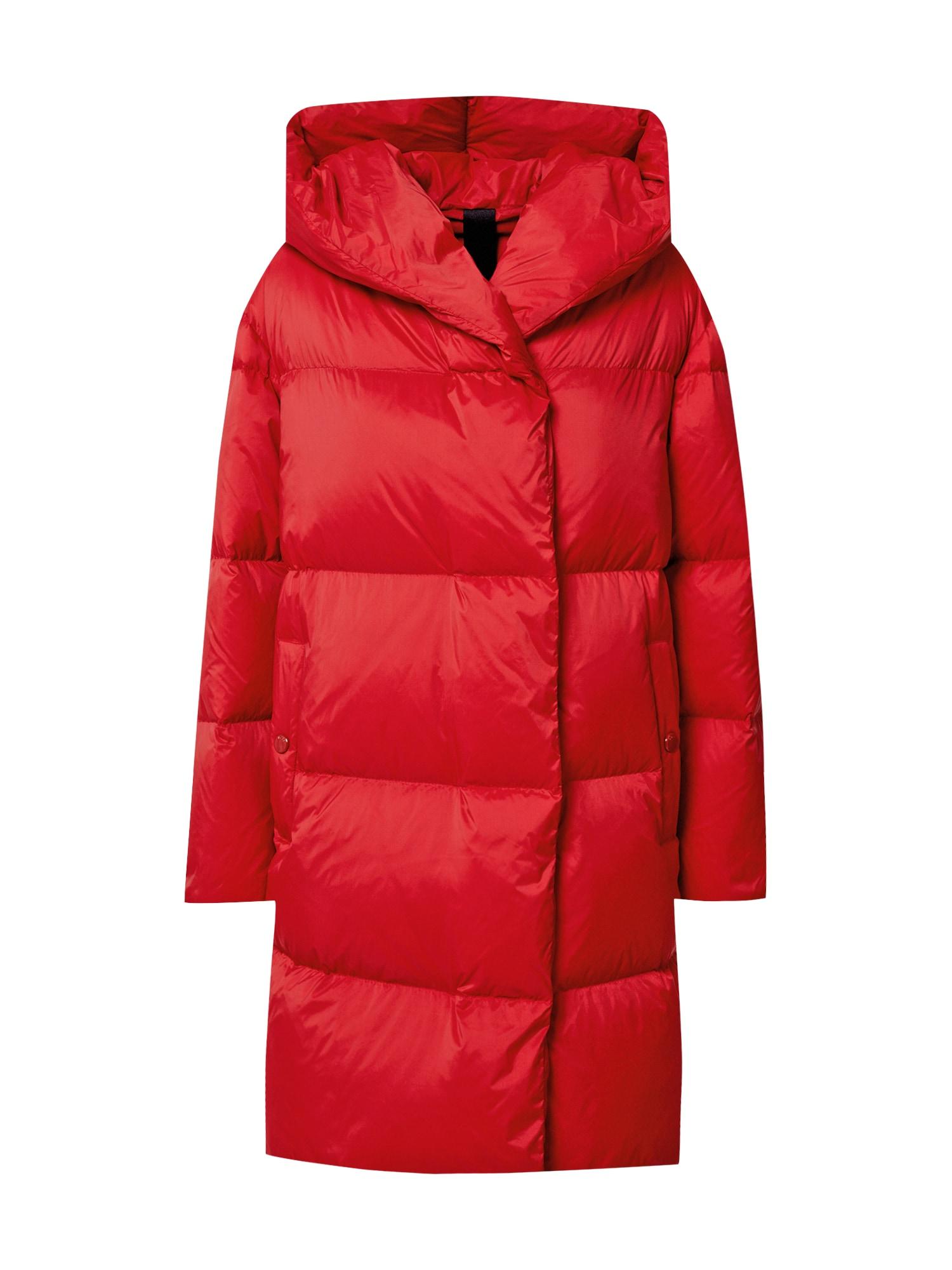 BOSS Žieminis paltas raudona