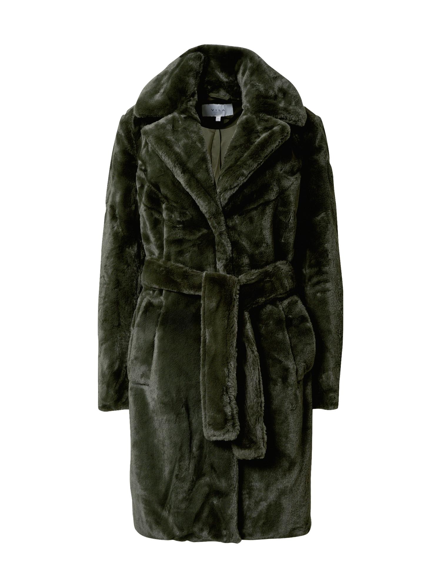 VILA Zimní kabát  jedle