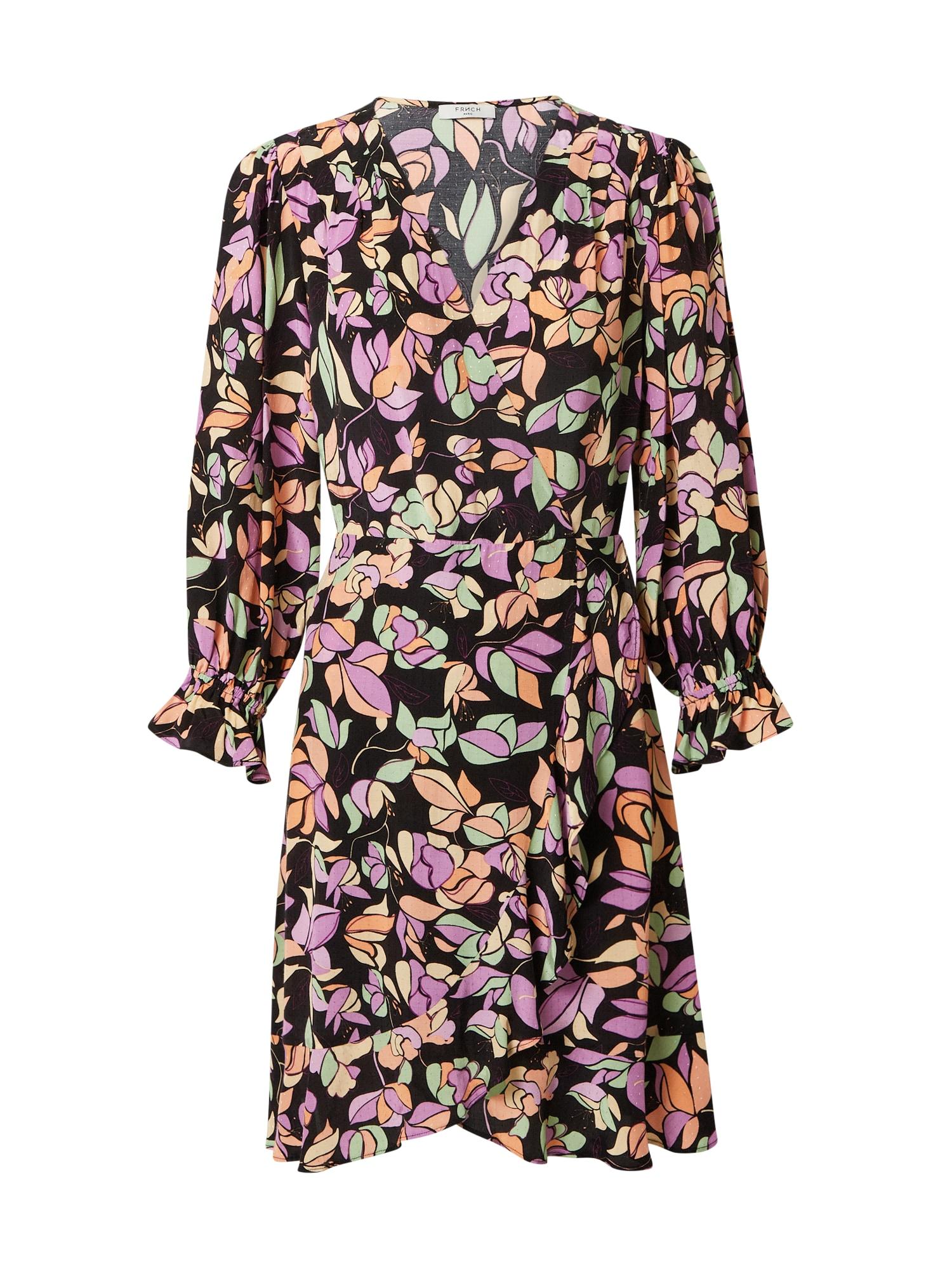 FRNCH PARIS Suknelė mišrios spalvos / įdegio spalva