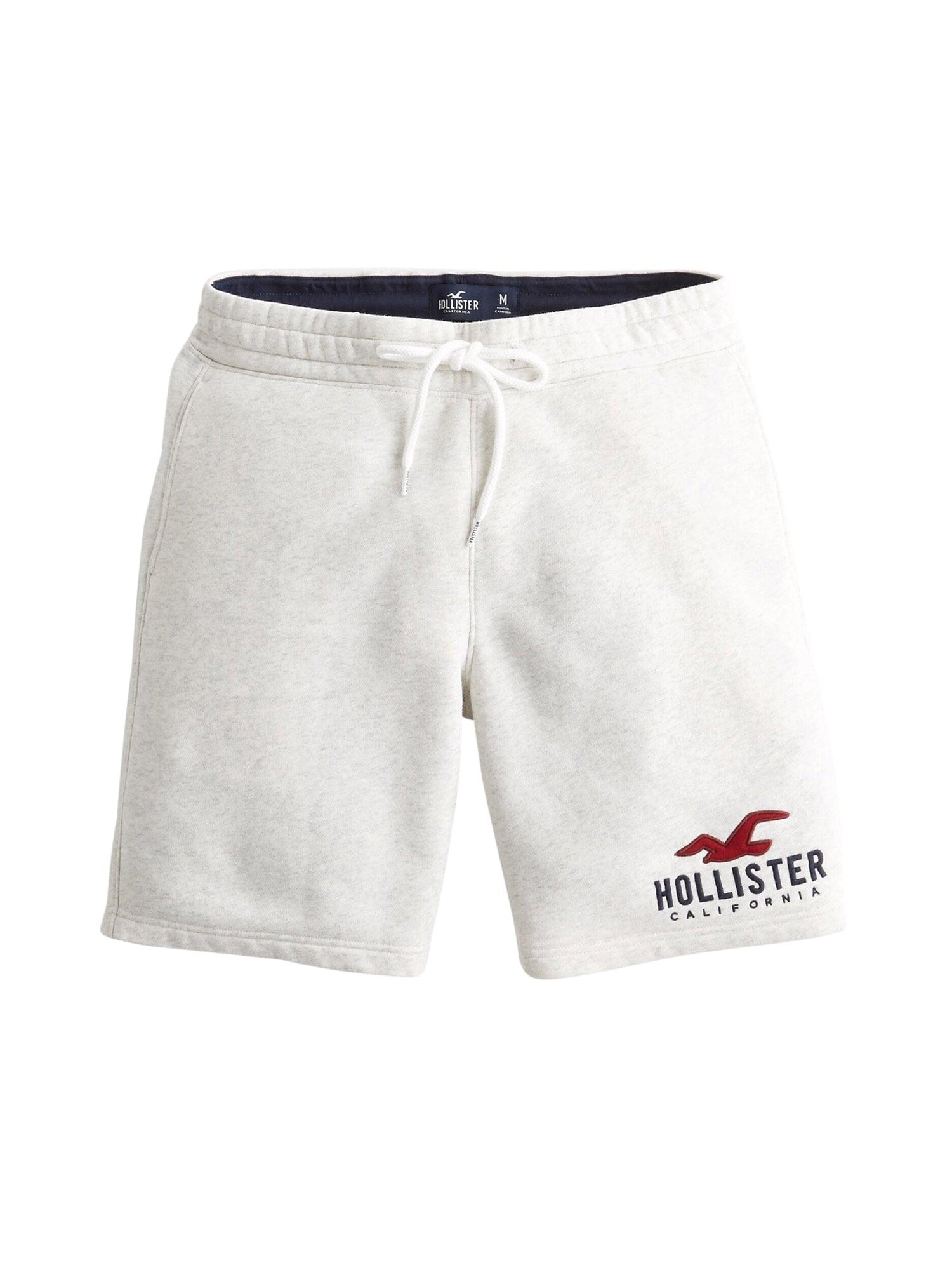 HOLLISTER Kelnės margai balta