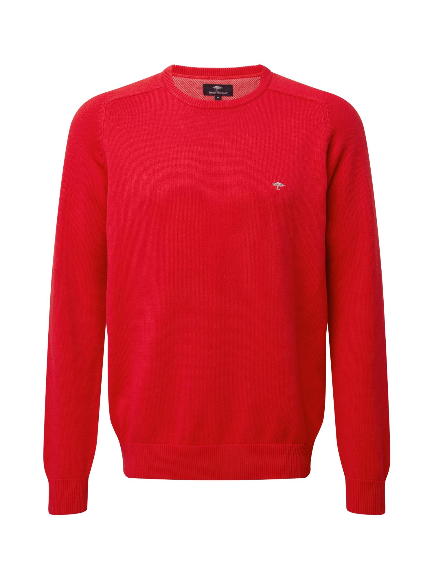 FYNCH-HATTON Megztinis raudona