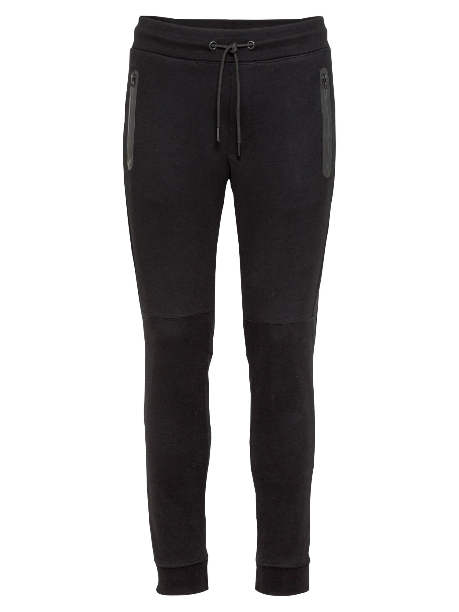 JACK & JONES Kalhoty 'WILL'  černá