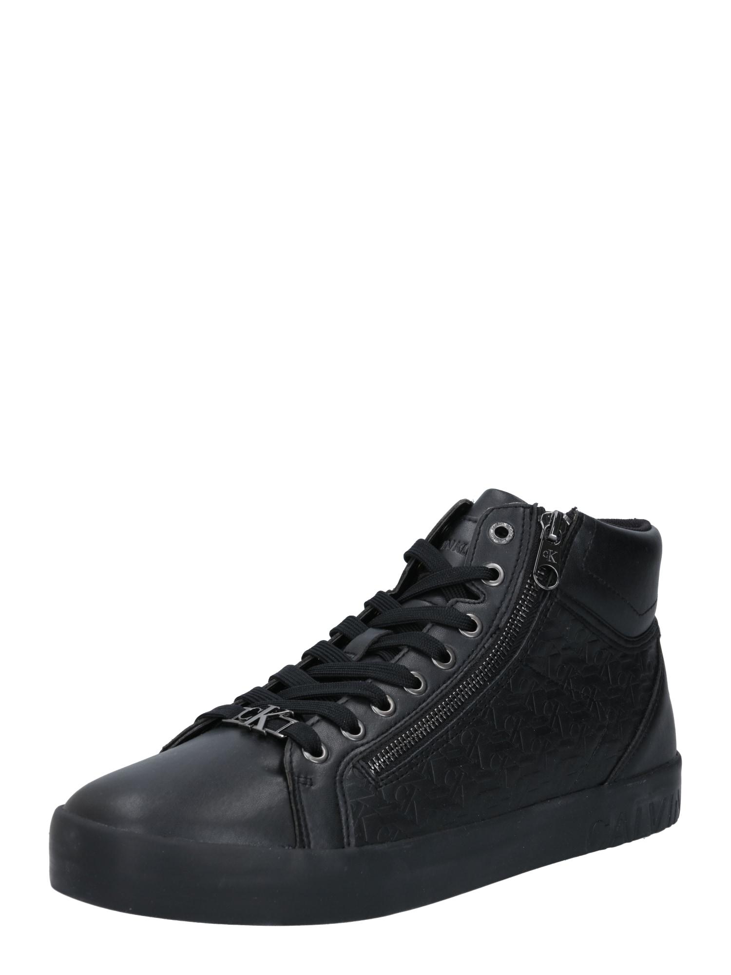 Calvin Klein Jeans Sportbačiai su auliuku juoda