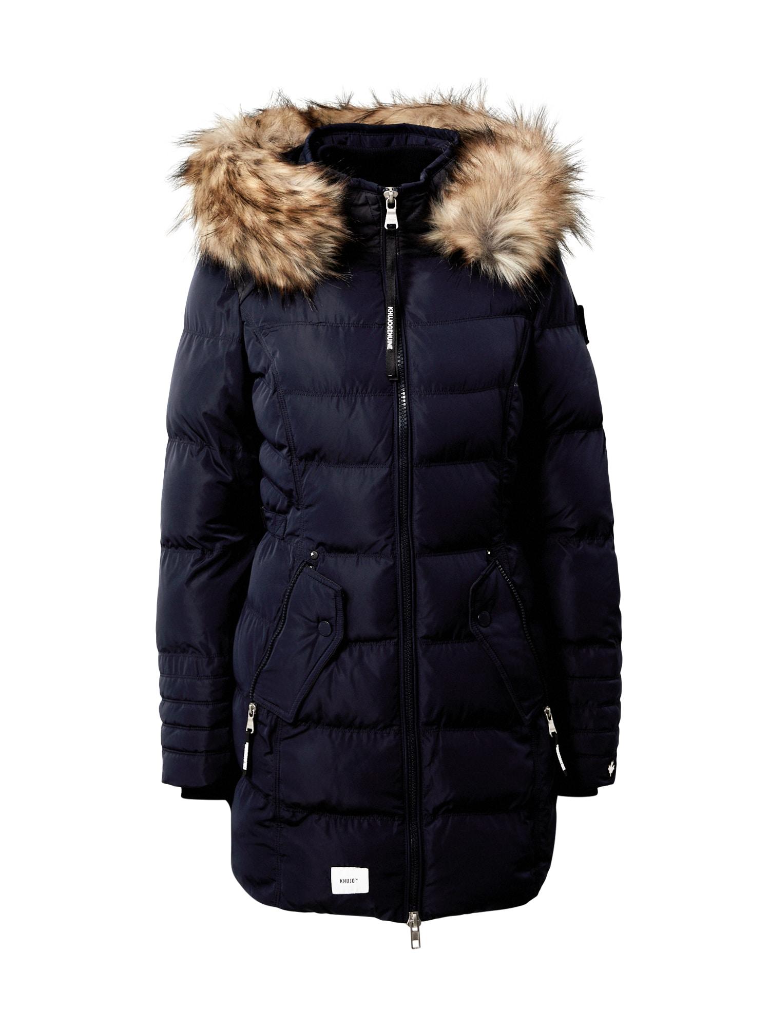 khujo Zimní kabát 'Amaray'  tmavě modrá