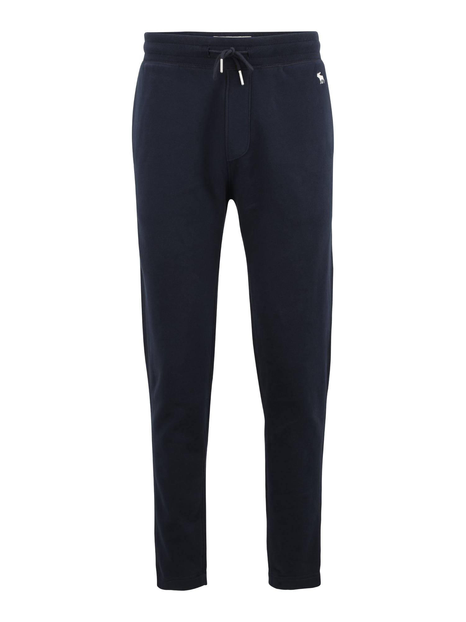 Abercrombie & Fitch Pižaminės kelnės tamsiai mėlyna / balta